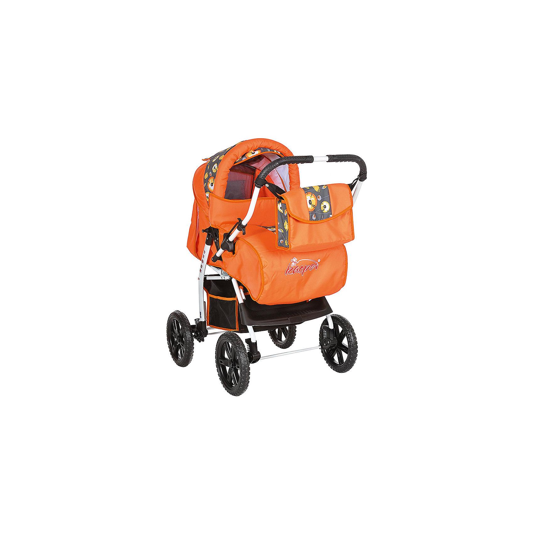 Коляска-трансформер KACPER TIGER МАКИ, оранжевыйКоляски-трансформеры<br>KACPER Коляска TIGER МАКИ оранжевый (колёса иммит,сумка,дожд,)<br><br>Ширина мм: 350<br>Глубина мм: 950<br>Высота мм: 620<br>Вес г: 13000<br>Возраст от месяцев: -2147483648<br>Возраст до месяцев: 2147483647<br>Пол: Унисекс<br>Возраст: Детский<br>SKU: 5500233