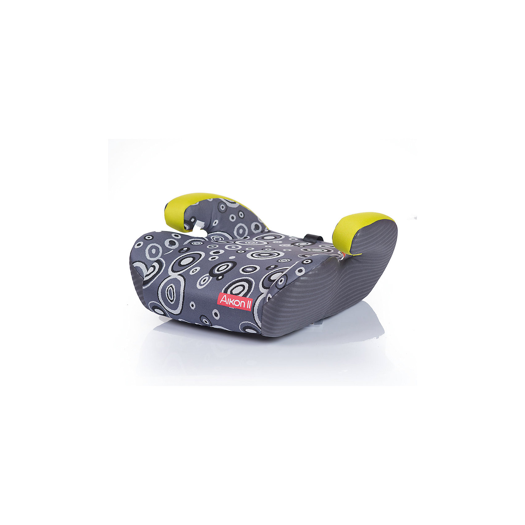 Бустер AIKON 2, 15-36 кг., Babyhit, серый с зелёным3 группа, для детей от 15 до 36 кг., автокресло-бустер, ребенок фиксируется штатными автомобильными ремнями,ремень для дополнительной фиксации штатных ремней безопасности автомобиля<br>широкое сиденье с удобными подлокотниками,компактно размещается в автомобиле,съемный чехол,устанавливается по ходу движения автомобиля,соответствует Евростандарту безопасности ЕСЕ44/3<br><br>Ширина мм: 450<br>Глубина мм: 500<br>Высота мм: 200<br>Вес г: 1250<br>Возраст от месяцев: 36<br>Возраст до месяцев: 144<br>Пол: Унисекс<br>Возраст: Детский<br>SKU: 5500246