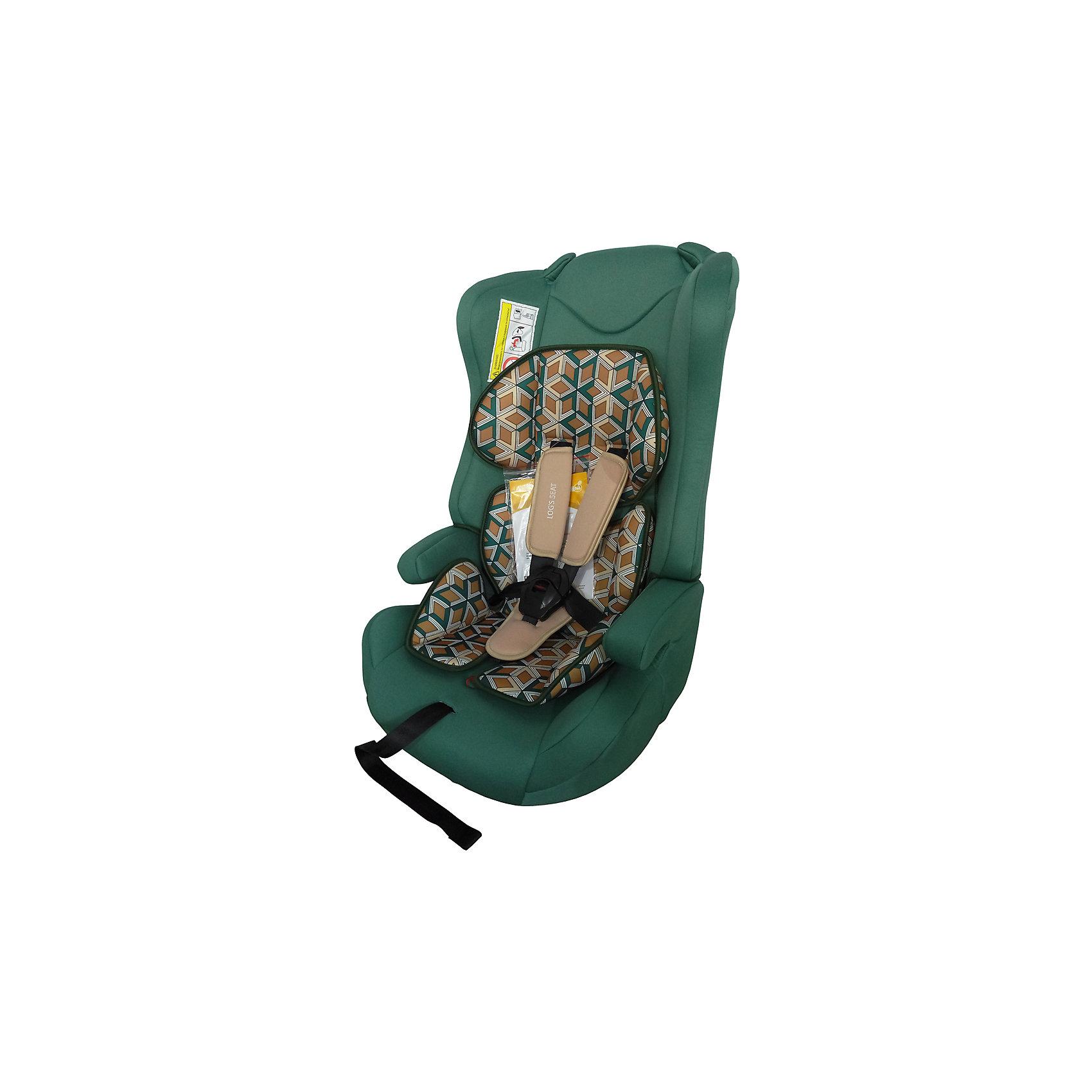 Автокресло LOGS SEAT 9-36 кг., Babyhit, темно-зелёныйАвтокресло Logs Seat  (группа 1/2/3)  - отличный вариант для малыша и практичный – для родителей. Его легко чистить благодаря съемному чехлу, а устанавливать кресло в машине очень просто. Пятиточечные ремни безопасности аккуратно, но надежно удерживают ребенка. Немаловажно, что кресло в автомобиле можно использовать как бустер, чтобы оно было более комфортным для подросшего малыша. Кресло оснащено системой защиты при боковом столкновении, так же есть защитные стенки для головы. Предназначено для детей от 9 до 25 кг, без спинки- для детей от 15 до 36 кг.,удобная спинка,  5-ти точечные ремни безопасности с удерживающей системой, препятствующей их соскальзывание с плеч ребёнка, имеются подлокотники, съемный чехол, устанавливается по ходу движения автомобиля,соответствует Евростандарту безопасности ЕСЕ44/3, габариты автокресла 400х 380 х 640 мм.<br><br>Ширина мм: 500<br>Глубина мм: 400<br>Высота мм: 780<br>Вес г: 6000<br>Возраст от месяцев: 6<br>Возраст до месяцев: 144<br>Пол: Унисекс<br>Возраст: Детский<br>SKU: 5500254