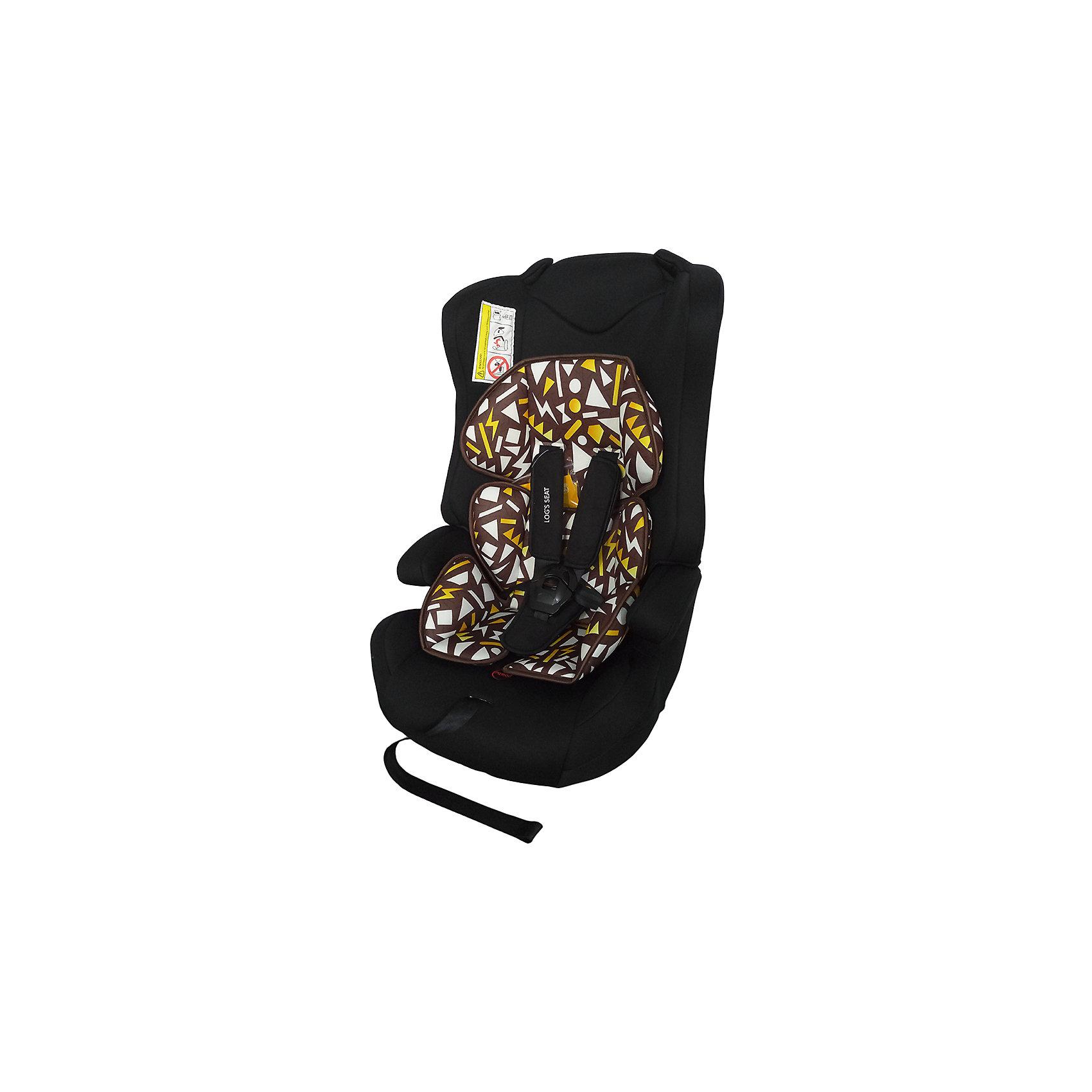 Автокресло LOGS SEAT 9-36 кг., Babyhit, черный с геометрическими фигурамиАвтокресло Logs Seat  (группа 1/2/3)  - отличный вариант для малыша и практичный – для родителей. Его легко чистить благодаря съемному чехлу, а устанавливать кресло в машине очень просто. Пятиточечные ремни безопасности аккуратно, но надежно удерживают ребенка. Немаловажно, что кресло в автомобиле можно использовать как бустер, чтобы оно было более комфортным для подросшего малыша. Кресло оснащено системой защиты при боковом столкновении, так же есть защитные стенки для головы. Предназначено для детей от 9 до 25 кг, без спинки- для детей от 15 до 36 кг.,удобная спинка,  5-ти точечные ремни безопасности с удерживающей системой, препятствующей их соскальзывание с плеч ребёнка, имеются подлокотники, съемный чехол, устанавливается по ходу движения автомобиля,соответствует Евростандарту безопасности ЕСЕ44/3, габариты автокресла 400х 380 х 640 мм.<br><br>Ширина мм: 500<br>Глубина мм: 400<br>Высота мм: 780<br>Вес г: 6000<br>Возраст от месяцев: 6<br>Возраст до месяцев: 144<br>Пол: Унисекс<br>Возраст: Детский<br>SKU: 5500255