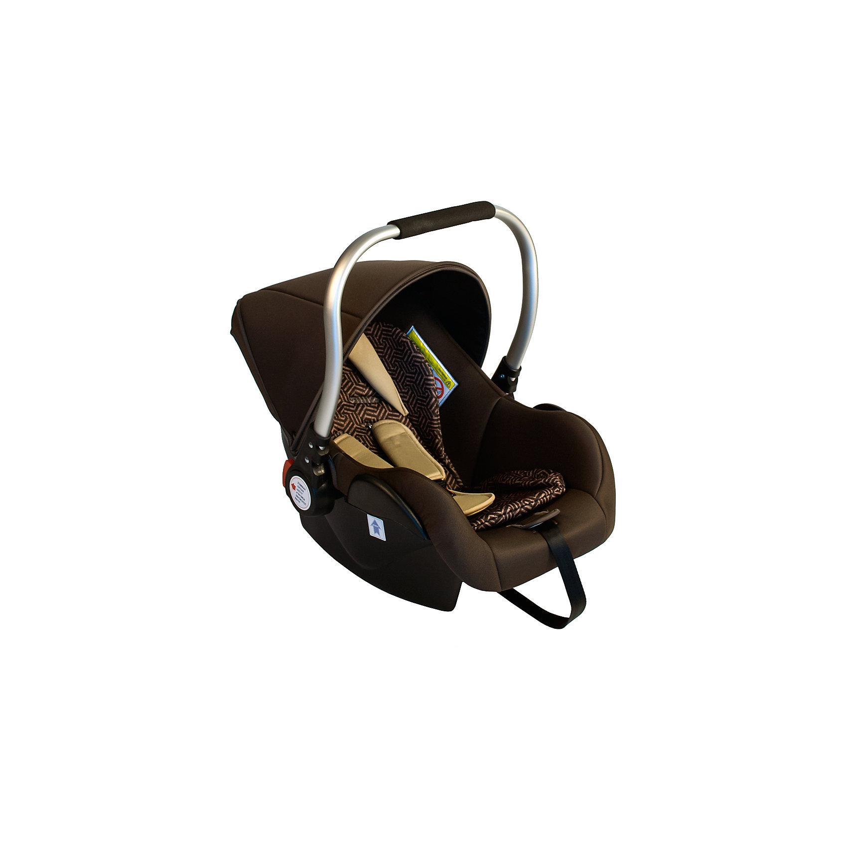 Автокресло BabyHit PRIMARY 0-13 кг, коричневыйГруппа 0+ (До 13 кг)<br>Характеристики:<br><br>• группа автокресла: 0+;<br>• вес ребенка: до 13 кг;<br>• возраст ребенка: рождения до года;<br>• способ крепления: штатные ремни безопасности;<br>• способ установки: против хода движения автомобиля;<br>• стандарт безопасности: ЕСЕ R44/04.<br><br>Особенности автокресла:<br><br>• система встроенных ремней безопасности с мягкими накладками;<br>• наличие анатомического вкладыша для новорожденного;<br>• капор для защиты от солнечных лучей;<br>• возможность установить на шасси колясок Babyhit Drive и Babyhit Drive 2, Babyhit Smart;<br>• переходники входят в комплект поставки;<br>• чехол съемный, стирается при температуре 30 градусов;<br>• материал: пластик, полиэстер, алюминиевая ручка с мягкой накладкой для переноски автокресла.<br><br>Размер автокресла: 74х44 80 см<br>Вес автокресла: 3 кг<br><br>Автокресло PRIMARY 0-13 кг, Babyhit, цвет коричневый можно купить в нашем интернет-магазине.<br><br>Ширина мм: 740<br>Глубина мм: 440<br>Высота мм: 800<br>Вес г: 3000<br>Возраст от месяцев: 0<br>Возраст до месяцев: 12<br>Пол: Унисекс<br>Возраст: Детский<br>SKU: 5500258