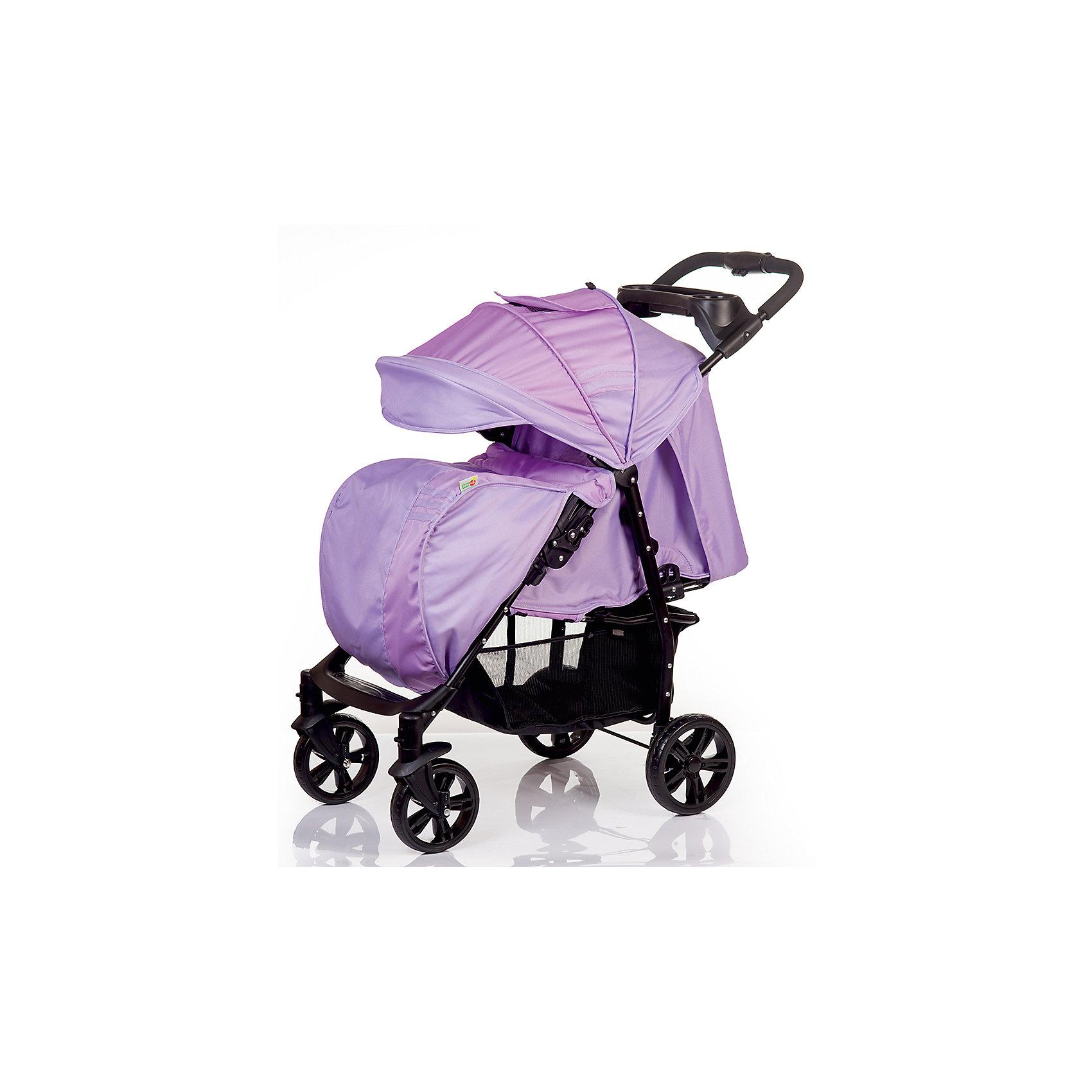 Прогулочная коляска BabyHit ADVENTURE, фиолетовыйПрогулочные коляски<br>Характеристики коляски<br><br>Прогулочный блок:<br><br>• наклон спинки регулируется, 3 положения;<br>• положение подножки регулируется;<br>• защитный бампер обтянут тканью, есть разделитель для ножек;<br>• капюшон-батискаф опускается до бампера, имеется смотровое окошко;<br>• длина спального места: 77 см;<br>• ширина сиденья: 34 см;<br>• высота спинки: 42 см<br><br>Рама коляски:<br><br>• на раме коляски между ручкой и капором расположен столик с углублением для подстаканника;<br>• внизу расположена корзина для покупок;<br>• передние колеса поворотные с блокировкой;<br>• рама складывается вместе с прогулочным блоком;<br>• механизм складывания: книжка;<br>• диаметр колес: 18 см и 20 см;<br>• материал колес: пластик;<br>• материал рамы: алюминий.<br><br>Вес коляски: 8,8 кг<br>Размер упаковки: 86х43х23 см<br>Вес в упаковке: 9,88 кг<br><br>Дополнительная комплектация:<br><br>• чехол на ножки;<br>• дождевик;<br>• москитная сетка;<br>• инструкция. <br><br>Прогулочную коляску ADVENTURE, Babyhit, цвет фиолетовый можно купить в нашем интернет-магазине.<br><br>Ширина мм: 430<br>Глубина мм: 230<br>Высота мм: 860<br>Вес г: 9880<br>Возраст от месяцев: 7<br>Возраст до месяцев: 36<br>Пол: Унисекс<br>Возраст: Детский<br>SKU: 5500280