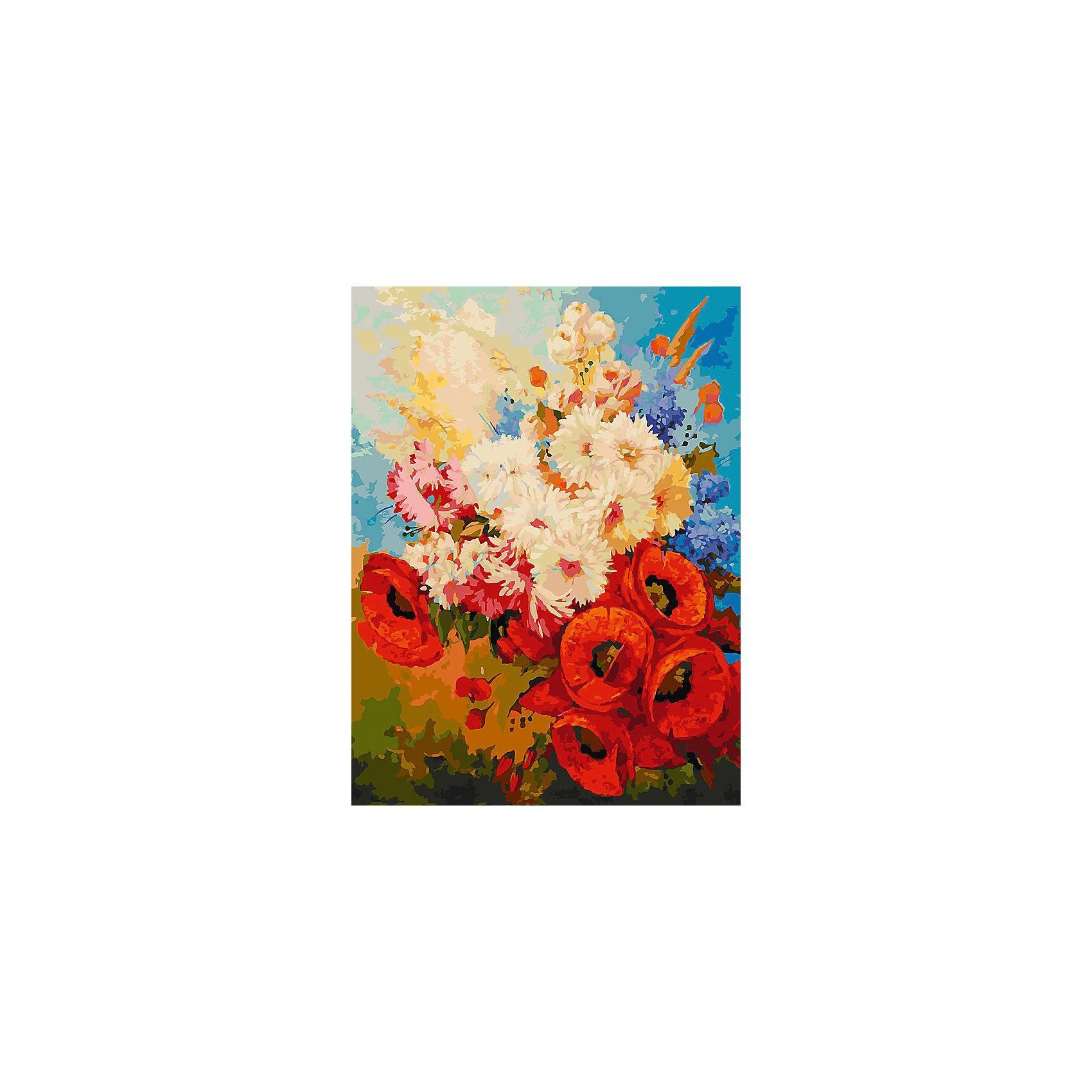 Живопись на холсте Цветочная мозаика, 30*40 смРисование<br>Живопись на холсте Цветочная мозаика, 30*40 см<br><br>Характеристики:<br><br>• Вес: 567<br>• Размер: 30х40<br>• Краски: акриловые, быстросохнущие<br>• Количество цветов: 36<br>• В наборе: холст на подрамнике, настенное крепление, контрольный лист с рисунком, 36 красок, 3 кисти<br><br>Данный набор позволит любому человеку ощутить себя профессиональным художником. В комплект входит холст с нанесенным на него рисунком по номерам, акриловые краски на водной основе, специальный контрольный лист, предотвращающий ошибки и 3 удобные кисти разных размеров. <br><br>Рисовать на холсте очень удобно, а благодаря номерам на картине и баночках с краской - это совсем просто. Цвета ложатся ровным слоем, перекрывая нанесенный рисунок. Если вы боитесь, что где-то ошиблись – приложите контрольный лист, который полностью повторяет схему. Акриловые краски совершенно безопасны и не имеют запаха. А благодаря настенному креплению вы сможете повесить готовую работу.<br><br>Живопись на холсте Цветочная мозаика, 30*40 см можно купить в нашем интернет-магазине.<br><br>Ширина мм: 410<br>Глубина мм: 310<br>Высота мм: 250<br>Вес г: 567<br>Возраст от месяцев: 72<br>Возраст до месяцев: 2147483647<br>Пол: Унисекс<br>Возраст: Детский<br>SKU: 5500364