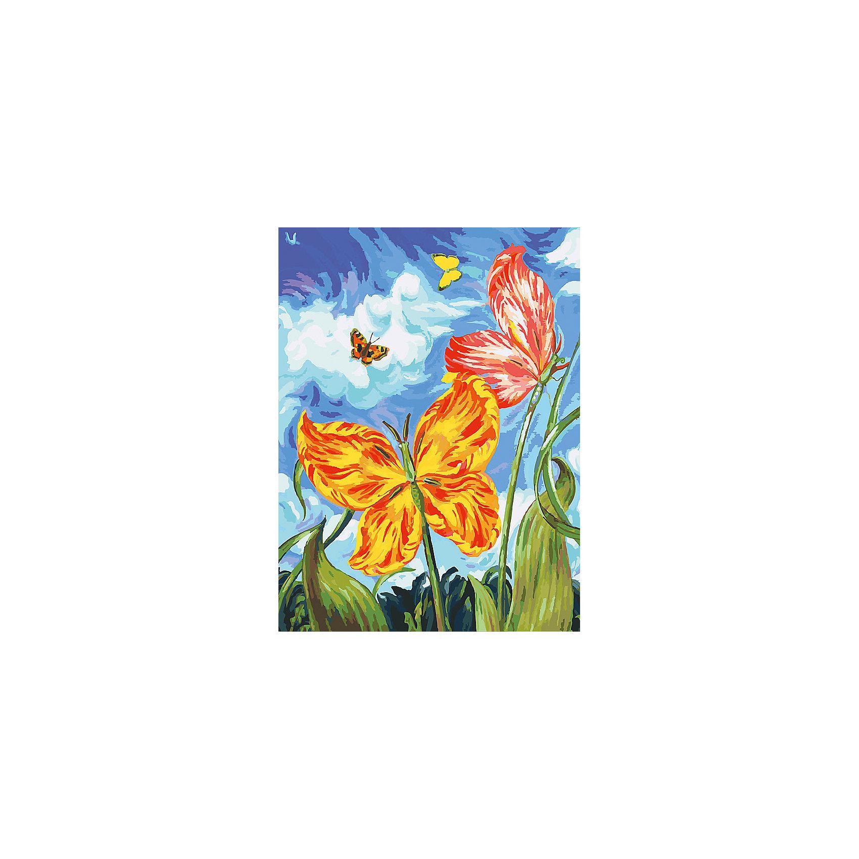 Живопись на холсте Бабочки, 30*40 смЖивопись на холсте Бабочки, 30*40 см<br><br>Характеристики:<br><br>• Вес: 567<br>• Размер: 30х40<br>• Краски: акриловые, быстросохнущие<br>• Количество цветов: 40<br>• В наборе: холст на подрамнике, настенное крепление, контрольный лист с рисунком, 40 красок, 3 кисти<br><br>Данный набор позволит любому человеку ощутить себя профессиональным художником. В комплект входит холст с нанесенным на него рисунком по номерам, акриловые краски на водной основе, специальный контрольный лист, предотвращающий ошибки и 3 удобные кисти разных размеров. <br><br>Рисовать на холсте очень удобно, а благодаря номерам на картине и баночках с краской - это совсем просто. Цвета ложатся ровным слоем, перекрывая нанесенный рисунок. Если вы боитесь, что где-то ошиблись – приложите контрольный лист, который полностью повторяет схему. Акриловые краски совершенно безопасны и не имеют запаха. А благодаря настенному креплению вы сможете повесить готовую работу.<br><br><br>Живопись на холсте Бабочки, 30*40 см можно купить в нашем интернет-магазине.<br><br>Ширина мм: 410<br>Глубина мм: 310<br>Высота мм: 250<br>Вес г: 567<br>Возраст от месяцев: 72<br>Возраст до месяцев: 2147483647<br>Пол: Унисекс<br>Возраст: Детский<br>SKU: 5500370