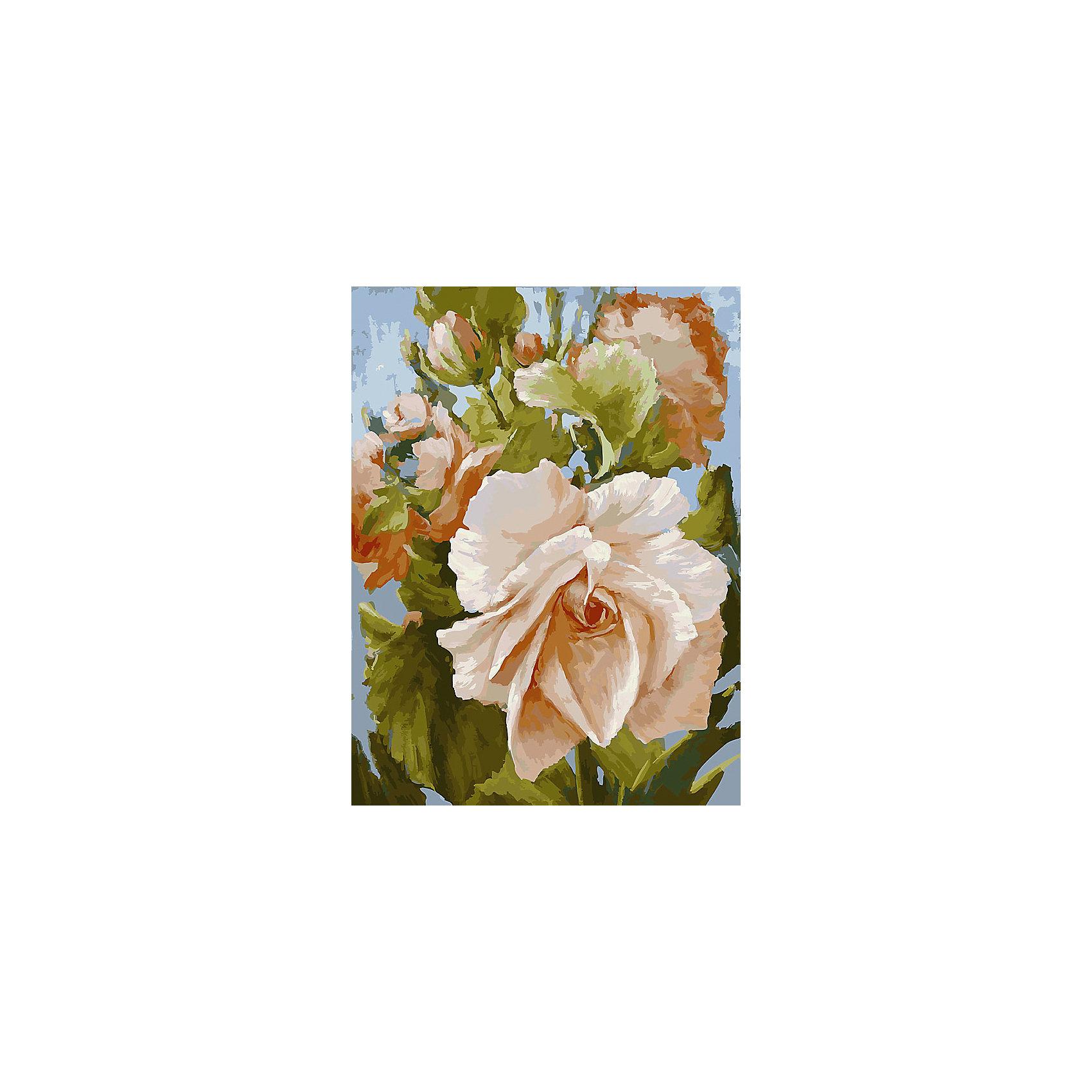 Живопись на холсте Роза, 30*40 смЖивопись на холсте Роза, 30*40 см<br><br>Характеристики:<br><br>• Вес: 567<br>• Размер: 30х40<br>• Краски: акриловые, быстросохнущие<br>• Количество цветов: 35<br>• В наборе: холст на подрамнике, настенное крепление, контрольный лист с рисунком, 35 красок, 3 кисти<br><br>Данный набор позволит любому человеку ощутить себя профессиональным художником. В комплект входит холст с нанесенным на него рисунком по номерам, акриловые краски на водной основе, специальный контрольный лист, предотвращающий ошибки и 3 удобные кисти разных размеров. <br><br>Рисовать на холсте очень удобно, а благодаря номерам на картине и баночках с краской - это совсем просто. Цвета ложатся ровным слоем, перекрывая нанесенный рисунок. Если вы боитесь, что где-то ошиблись – приложите контрольный лист, который полностью повторяет схему. Акриловые краски совершенно безопасны и не имеют запаха. А благодаря настенному креплению вы сможете повесить готовую работу.<br><br>Живопись на холсте Роза, 30*40 см можно купить в нашем интернет-магазине.<br><br>Ширина мм: 410<br>Глубина мм: 310<br>Высота мм: 250<br>Вес г: 567<br>Возраст от месяцев: 72<br>Возраст до месяцев: 2147483647<br>Пол: Унисекс<br>Возраст: Детский<br>SKU: 5500371