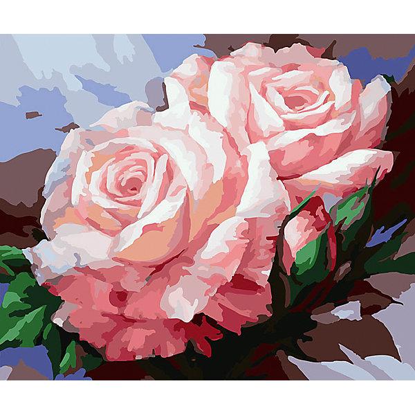 Живопись на холсте Нежные розы, 40*50 смРаскраски по номерам<br>Живопись на холсте Нежные розы, 40*50 см<br><br>Характеристики:<br><br>• Вес: 850<br>• Размер: 40х50<br>• Краски: акриловые, быстросохнущие<br>• Количество цветов: 30<br>• В наборе: холст на подрамнике, настенное крепление, контрольный лист с рисунком, 30 красок, 3 кисти<br><br>Данный набор позволит любому человеку ощутить себя профессиональным художником. В комплект входит холст с нанесенным на него рисунком по номерам, акриловые краски на водной основе, специальный контрольный лист, предотвращающий ошибки и 3 удобные кисти разных размеров. <br><br>Рисовать на холсте очень удобно, а благодаря номерам на картине и баночках с краской - это совсем просто. Цвета ложатся ровным слоем, перекрывая нанесенный рисунок. Если вы боитесь, что где-то ошиблись – приложите контрольный лист, который полностью повторяет схему. Акриловые краски совершенно безопасны и не имеют запаха. А благодаря настенному креплению вы сможете повесить готовую работу.<br><br>Живопись на холсте Нежные розы, 40*50 см можно купить в нашем интернет-магазине.<br>Ширина мм: 510; Глубина мм: 410; Высота мм: 250; Вес г: 850; Возраст от месяцев: 72; Возраст до месяцев: 2147483647; Пол: Унисекс; Возраст: Детский; SKU: 5500391;
