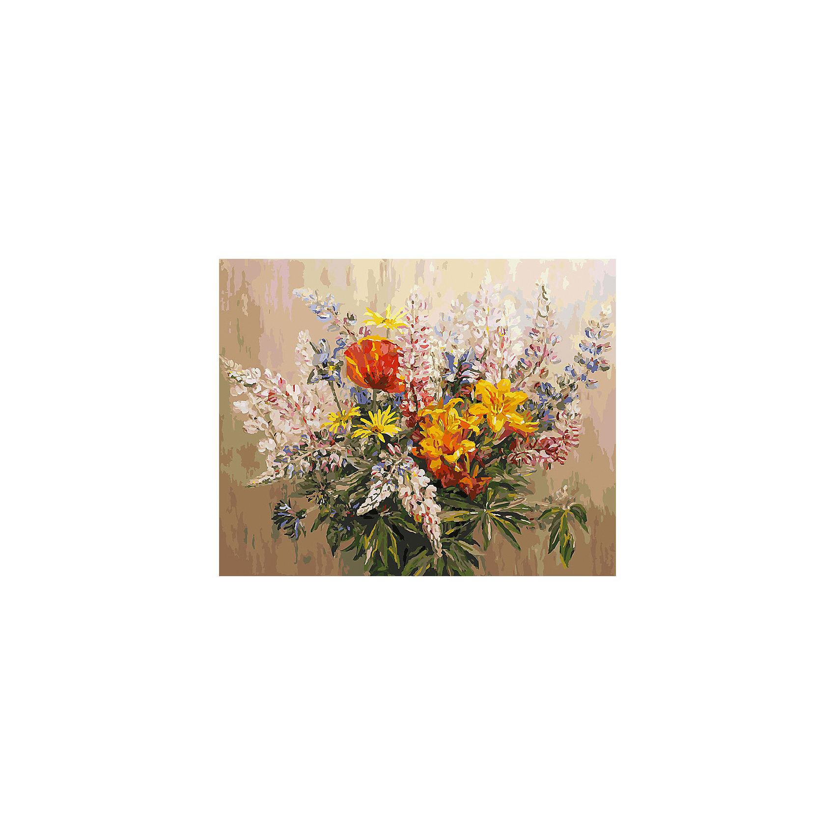 Живопись на холсте Букет с желтыми лилиями, 40*50 смРаскраски по номерам<br>Живопись на холсте Букет с желтыми лилиями, 40*50 см<br><br>Характеристики:<br><br>• Вес: 850<br>• Размер: 40х50<br>• Краски: акриловые, быстросохнущие<br>• Количество цветов: 40<br>• В наборе: холст на подрамнике, настенное крепление, контрольный лист с рисунком, 40 красок, 3 кисти<br><br>Данный набор позволит любому человеку ощутить себя профессиональным художником. В комплект входит холст с нанесенным на него рисунком по номерам, акриловые краски на водной основе, специальный контрольный лист, предотвращающий ошибки и 3 удобные кисти разных размеров. <br><br>Рисовать на холсте очень удобно, а благодаря номерам на картине и баночках с краской - это совсем просто. Цвета ложатся ровным слоем, перекрывая нанесенный рисунок. Если вы боитесь, что где-то ошиблись – приложите контрольный лист, который полностью повторяет схему. Акриловые краски совершенно безопасны и не имеют запаха. А благодаря настенному креплению вы сможете повесить готовую работу.<br><br>Живопись на холсте Букет с желтыми лилиями, 40*50 см можно купить в нашем интернет-магазине.<br><br>Ширина мм: 510<br>Глубина мм: 410<br>Высота мм: 250<br>Вес г: 850<br>Возраст от месяцев: 72<br>Возраст до месяцев: 2147483647<br>Пол: Унисекс<br>Возраст: Детский<br>SKU: 5500397