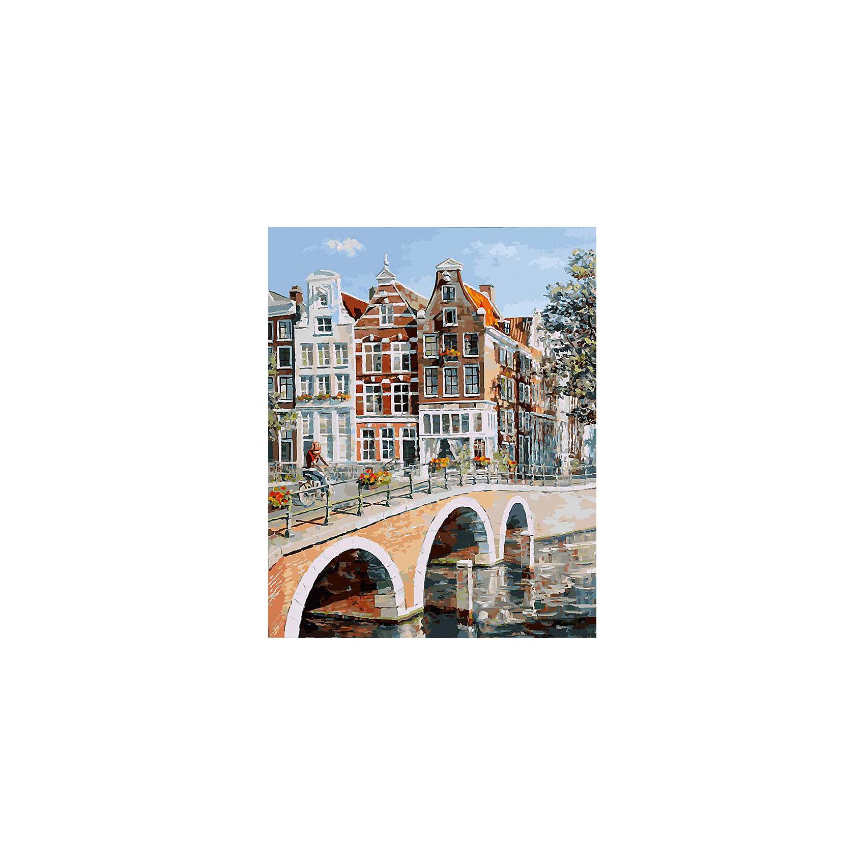Живопись на холсте Императорский канал в Амстердаме, 40*50 смРисование<br>Живопись на холсте Императорский канал в Амстердаме, 40*50 см<br><br>Характеристики:<br><br>• Вес: 850<br>• Размер: 40х50<br>• Краски: акриловые, быстросохнущие<br>• Количество цветов: 40<br>• В наборе: холст на подрамнике, настенное крепление, контрольный лист с рисунком, 40 красок, 3 кисти<br><br>Данный набор позволит любому человеку ощутить себя профессиональным художником. В комплект входит холст с нанесенным на него рисунком по номерам, акриловые краски на водной основе, специальный контрольный лист, предотвращающий ошибки и 3 удобные кисти разных размеров. <br><br>Рисовать на холсте очень удобно, а благодаря номерам на картине и баночках с краской - это совсем просто. Цвета ложатся ровным слоем, перекрывая нанесенный рисунок. Если вы боитесь, что где-то ошиблись – приложите контрольный лист, который полностью повторяет схему. Акриловые краски совершенно безопасны и не имеют запаха. А благодаря настенному креплению вы сможете повесить готовую работу.<br><br>Живопись на холсте Императорский канал в Амстердаме, 40*50 см можно купить в нашем интернет-магазине.<br><br>Ширина мм: 510<br>Глубина мм: 410<br>Высота мм: 250<br>Вес г: 850<br>Возраст от месяцев: 72<br>Возраст до месяцев: 2147483647<br>Пол: Унисекс<br>Возраст: Детский<br>SKU: 5500401