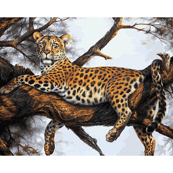 Живопись на холсте Леопард на отдыхе, 40*50 смРаскраски по номерам<br>Живопись на холсте Леопард на отдыхе, 40*50 см<br><br>Характеристики:<br><br>• Вес: 850<br>• Размер: 40х50<br>• Краски: акриловые, быстросохнущие<br>• Количество цветов: 32<br>• В наборе: холст на подрамнике, настенное крепление, контрольный лист с рисунком, 32 красок, 3 кисти<br><br>Данный набор позволит любому человеку ощутить себя профессиональным художником. В комплект входит холст с нанесенным на него рисунком по номерам, акриловые краски на водной основе, специальный контрольный лист, предотвращающий ошибки и 3 удобные кисти разных размеров. <br><br>Рисовать на холсте очень удобно, а благодаря номерам на картине и баночках с краской - это совсем просто. Цвета ложатся ровным слоем, перекрывая нанесенный рисунок. Если вы боитесь, что где-то ошиблись – приложите контрольный лист, который полностью повторяет схему. Акриловые краски совершенно безопасны и не имеют запаха. А благодаря настенному креплению вы сможете повесить готовую работу.<br><br>Живопись на холсте Леопард на отдыхе, 40*50 см можно купить в нашем интернет-магазине.<br>Ширина мм: 510; Глубина мм: 410; Высота мм: 250; Вес г: 850; Возраст от месяцев: 72; Возраст до месяцев: 2147483647; Пол: Унисекс; Возраст: Детский; SKU: 5500414;