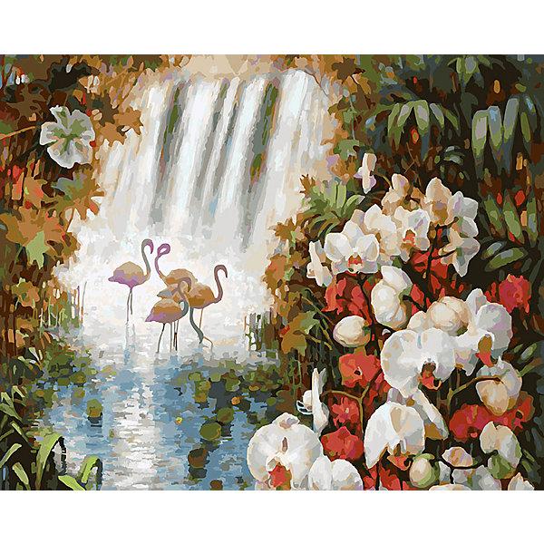 Живопись на холсте Райский сад, 40*50 смРаскраски по номерам<br>Живопись на холсте Райский сад, 40*50 см<br><br>Характеристики:<br><br>• Вес: 850<br>• Размер: 40х50<br>• Краски: акриловые, быстросохнущие<br>• Количество цветов: 38<br>• В наборе: холст на подрамнике, настенное крепление, контрольный лист с рисунком, 38 красок, 3 кисти<br><br>Данный набор позволит любому человеку ощутить себя профессиональным художником. В комплект входит холст с нанесенным на него рисунком по номерам, акриловые краски на водной основе, специальный контрольный лист, предотвращающий ошибки и 3 удобные кисти разных размеров. <br><br>Рисовать на холсте очень удобно, а благодаря номерам на картине и баночках с краской - это совсем просто. Цвета ложатся ровным слоем, перекрывая нанесенный рисунок. Если вы боитесь, что где-то ошиблись – приложите контрольный лист, который полностью повторяет схему. Акриловые краски совершенно безопасны и не имеют запаха. А благодаря настенному креплению вы сможете повесить готовую работу.<br><br>Живопись на холсте Райский сад, 40*50 см можно купить в нашем интернет-магазине.<br><br>Ширина мм: 510<br>Глубина мм: 410<br>Высота мм: 250<br>Вес г: 850<br>Возраст от месяцев: 72<br>Возраст до месяцев: 2147483647<br>Пол: Унисекс<br>Возраст: Детский<br>SKU: 5500419