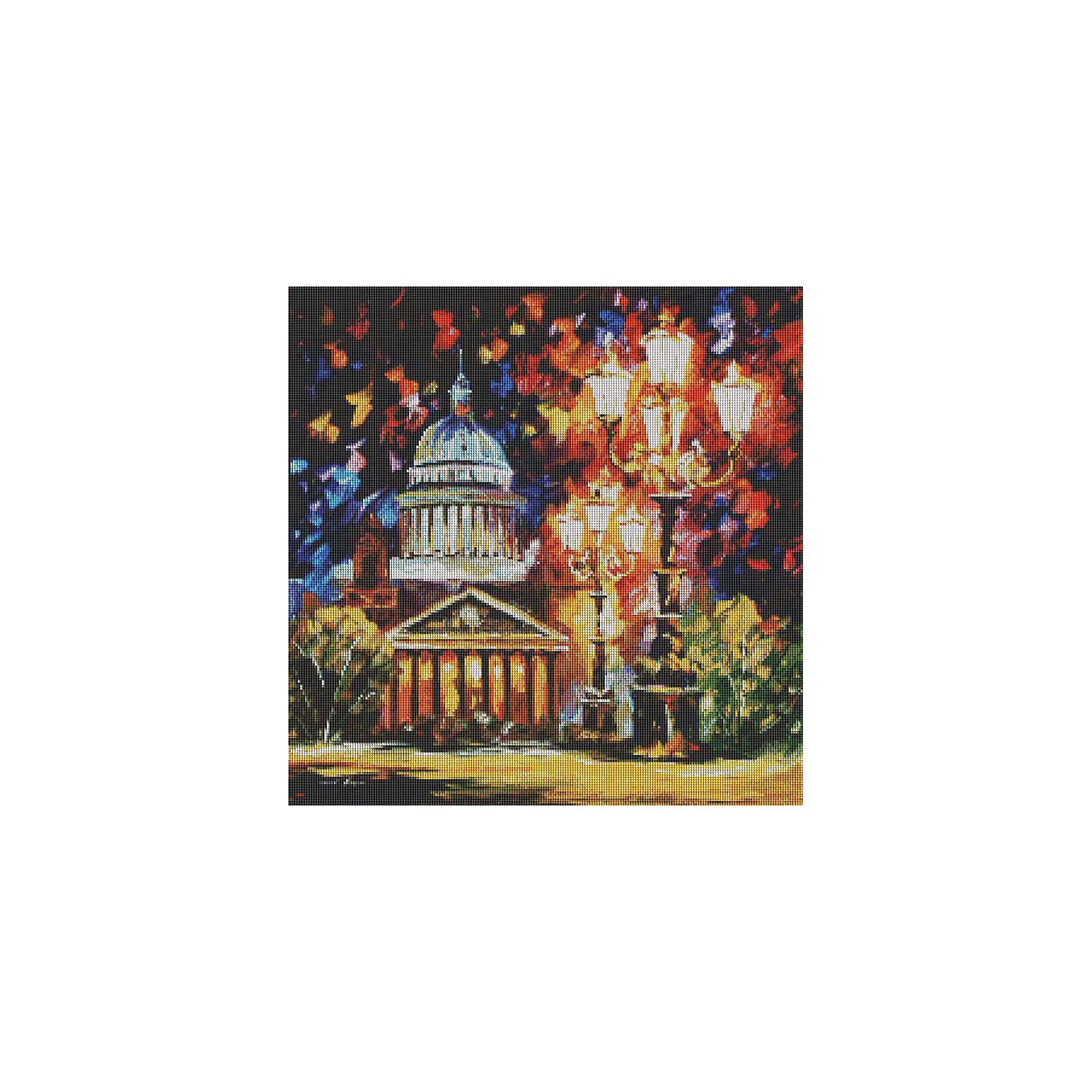 Мозаичная картина Мерцание ночи Санкт-ПетербургаМозаичная картина Мерцание ночи Санкт-Петербурга<br><br>Характеристики:<br><br>• Вес: 1110 г<br>• Размер: 53х53<br>• Тип камней: квадратный<br>• Размер камней: 2,5х2,5мм<br>• Тип выкладки: 100% заполнение<br>• Количество цветов: 57<br>• В комплекте: основа с клеевым слоем и схемой, набор алмазных камней, пинцет, лоток для мозаики, инструкция<br><br>Данный набор подойдет даже для начинающего рукодельника. Из него выйдет прекрасная мерцающая картина. Нанесение камушков с помощью пинцета не составит труда. В комплекте идет лоточек, в который можно положить нужный вам цвет и избежать рассыпания алмазов по всему рабочему месту. <br><br>Каждый цвет упакован в отдельный пакетик с номером соответствующим номеру на схеме. Весь набор находится в прозрачном тубусе, что делает его аккуратным и компактным.<br><br>Мозаичная картина Мерцание ночи Санкт-Петербурга можно купить в нашем интернет-магазине.<br><br>Ширина мм: 90<br>Глубина мм: 90<br>Высота мм: 6000<br>Вес г: 1100<br>Возраст от месяцев: 72<br>Возраст до месяцев: 2147483647<br>Пол: Унисекс<br>Возраст: Детский<br>SKU: 5500433