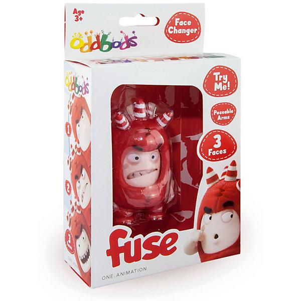 Фигурка с меняющимися эмоциями - Фьюз, 8,5 см,Oddbods (Чуддики)Коллекционные и игровые фигурки<br>Характеристики:<br><br>• возраст: от 3 лет;<br>• тип игрушки: фигурка;<br>• размер: 11х5х18 см.<br>• комплект:1 игрушка;<br>• материал: пластик;<br>• бренд: Oddbods;<br>• высота: 8,5 см;<br>• упаковка: картонная коробка блистерного типа;<br>• страна производитель: Китай.<br><br>Фигурка с меняющимися эмоциями – Фьюз – станет отличным подарком для детей от трех лет. Ярко-красная фигурка очень отличается от обычных игрушек.  Фьюз  может менять выражение эмоций. В мультфильме Oddbods Fuse - герой с взрывным характером, поэтому и его фигурка может показывать 3 эмоции - раздражение, веселье и удивление.<br><br>С такой игрушкой можно разыграть множество историй и жизненных ситуаций, в которых эмоции Фьюза будут меняться в зависимости от обстоятельств. Такая игра поможет ребенку развивать мышление, рекацию, умение реагировать на ситуацию. <br><br>Фигурку с меняющимися эмоциями – Фьюз  можно купить в нашем интернет-магазине.<br>Ширина мм: 50; Глубина мм: 180; Высота мм: 110; Вес г: 100; Возраст от месяцев: 36; Возраст до месяцев: 192; Пол: Унисекс; Возраст: Детский; SKU: 5500903;
