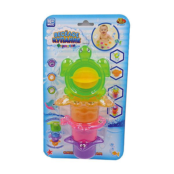 Черепаха-мельница для ванной, в наборе с аксессуарами, Веселое купание, 4 предм., ABtoysИгрушки для ванной<br>Веселое купание. Черепаха-мельница для ванной, в наборе с аксессуарами (4 предмета), на блистере, 28х16х7,3 см<br><br>Ширина мм: 280<br>Глубина мм: 160<br>Высота мм: 73<br>Вес г: 42<br>Возраст от месяцев: 36<br>Возраст до месяцев: 96<br>Пол: Унисекс<br>Возраст: Детский<br>SKU: 5500926