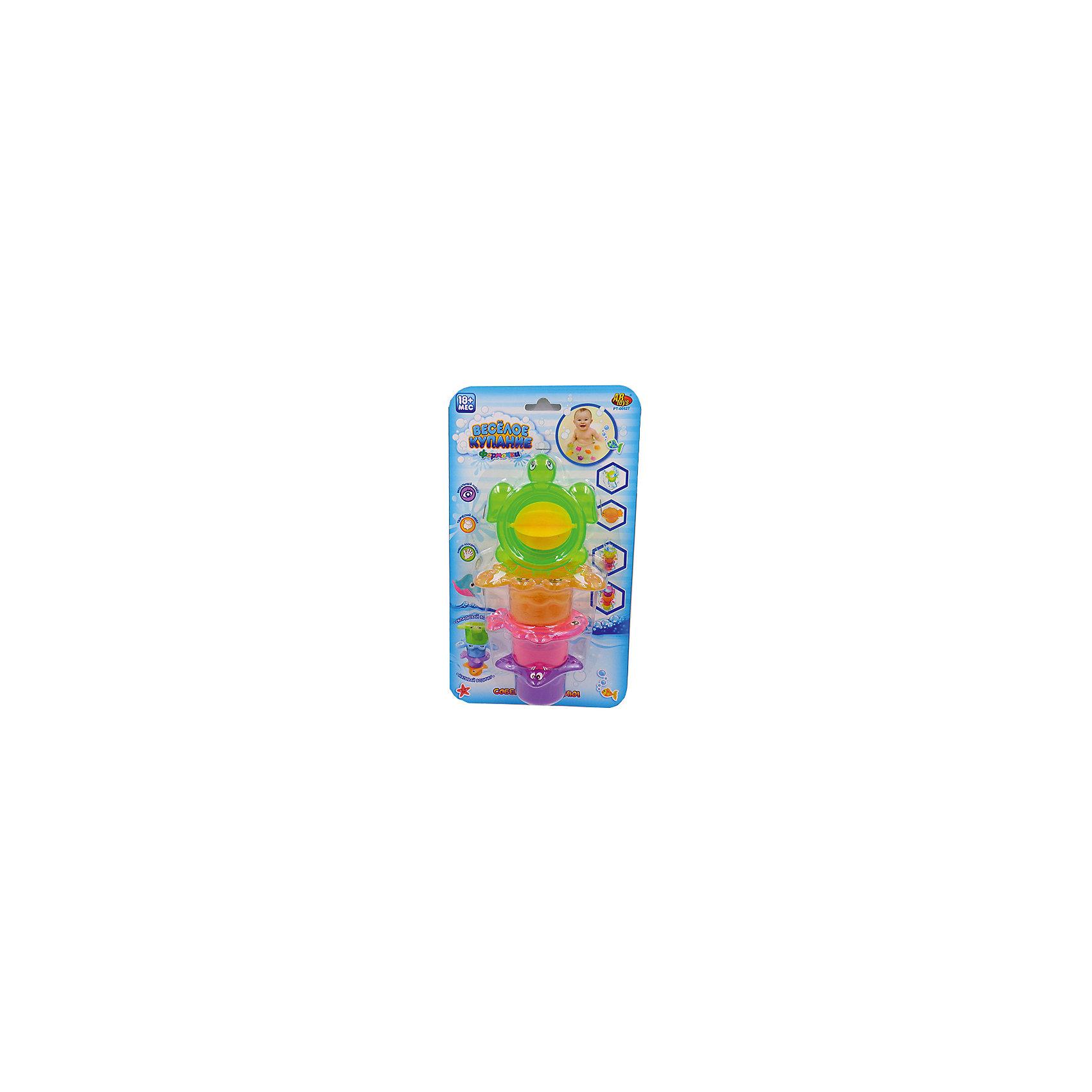 Черепаха-мельница для ванной, в наборе с аксессуарами, Веселое купание, 4 предм., ABtoysВеселое купание. Черепаха-мельница для ванной, в наборе с аксессуарами (4 предмета), на блистере, 28х16х7,3 см<br><br>Ширина мм: 280<br>Глубина мм: 160<br>Высота мм: 73<br>Вес г: 42<br>Возраст от месяцев: 36<br>Возраст до месяцев: 96<br>Пол: Унисекс<br>Возраст: Детский<br>SKU: 5500926