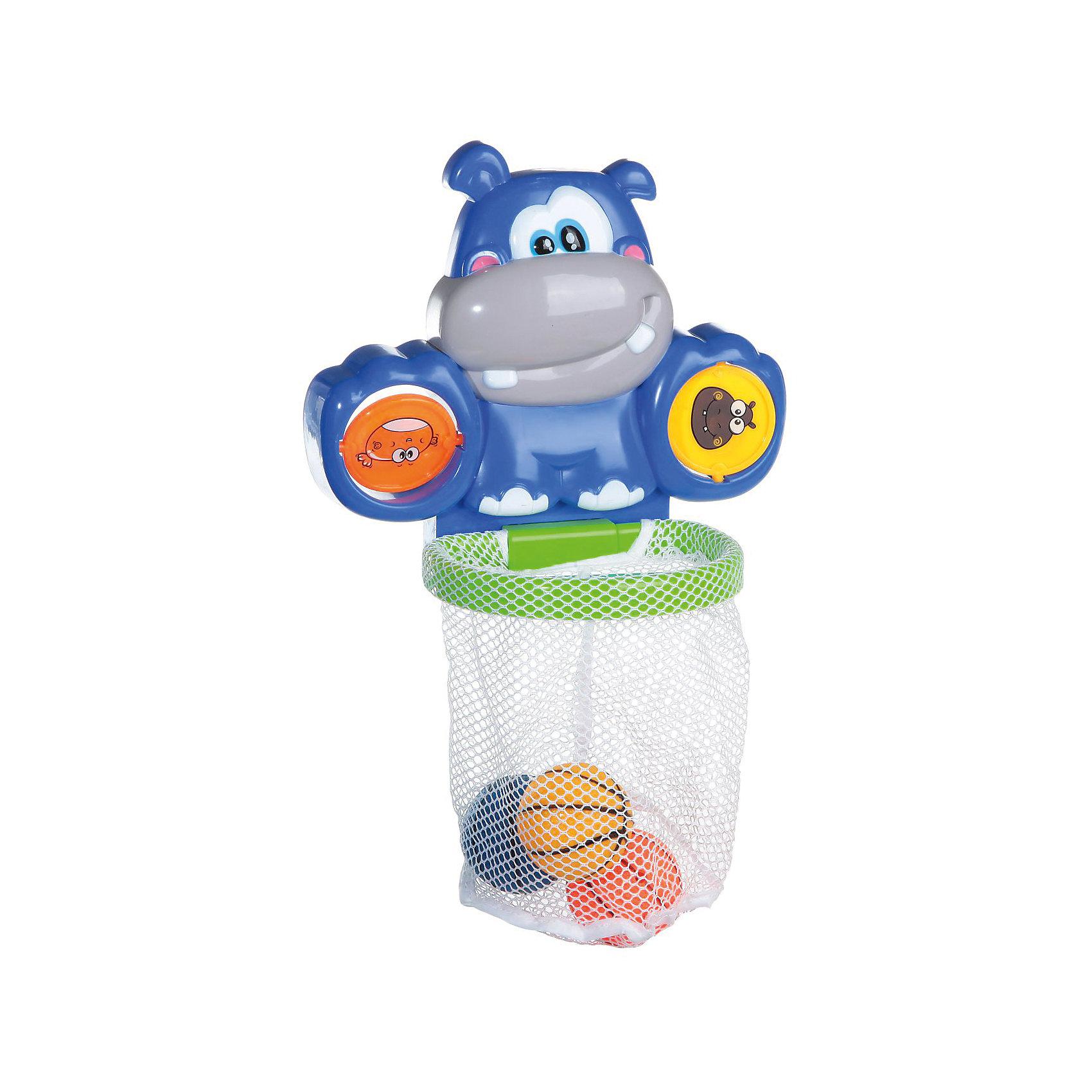 Водный баскетбол для ванной, с аксессуарами, 6 предм, Веселое купание, ABtoysИгрушки для ванной<br>Веселое купание. Водный баскетбол для ванной, в наборе с аксессуарами 6 предметов, в коробке, 41,5x6,5x27,5 см<br><br>Ширина мм: 415<br>Глубина мм: 65<br>Высота мм: 275<br>Вес г: 460<br>Возраст от месяцев: 36<br>Возраст до месяцев: 96<br>Пол: Унисекс<br>Возраст: Детский<br>SKU: 5500933