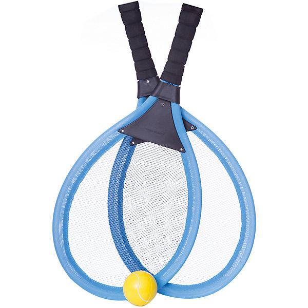 Набор Теннис, 3 предмета, в сумке, ABtoysБадминтон и теннис<br>Набор Теннис, 3 предмета, в сумке, 54,5x28,5x5,5 см<br>Ширина мм: 545; Глубина мм: 55; Высота мм: 285; Вес г: 360; Возраст от месяцев: 36; Возраст до месяцев: 192; Пол: Унисекс; Возраст: Детский; SKU: 5500957;
