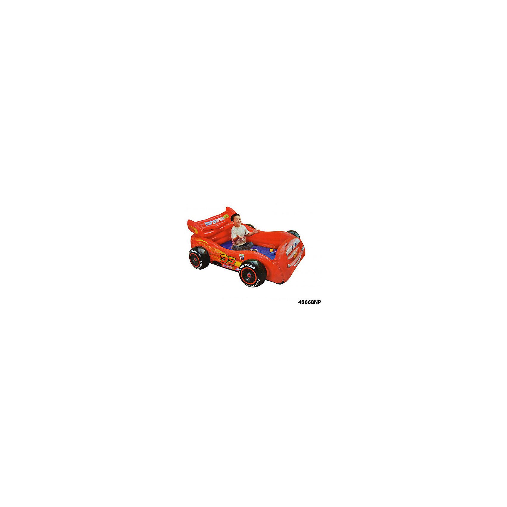 Надувная машина, 180х145х71см, Тачки, IntexИгровые центры<br>Характеристики товара:<br><br>• материал: ПВХ<br>• размер: 180х145х71 см<br>• толщина покрытия: 0,30 мм<br>• можно использовать в качестве манежа или кровати<br>• для детей 3-6 лет<br>• оригинальный привлекательный дизайн<br>• комплектация: машина, 10 шариков<br><br>Надувная машина в виде героя мультфильма Тачки обязательно понравится малышам. <br><br>Игрушку можно использовать в качестве манежа, кроватки или неглубокого бассейна. <br><br>Машина легко и быстро сдувается и надувается, занимает мало места при хранении и транспортировке. <br><br>Прекрасный подарок для всех поклонников мультфильма Тачки (Cars). <br><br>Надувную машину, 180х145х71см, Тачки, Intex (Интекс) можно купить в нашем интернет-магазине.<br><br>Ширина мм: 406<br>Глубина мм: 355<br>Высота мм: 126<br>Вес г: 3793<br>Возраст от месяцев: 36<br>Возраст до месяцев: 96<br>Пол: Унисекс<br>Возраст: Детский<br>SKU: 5501932