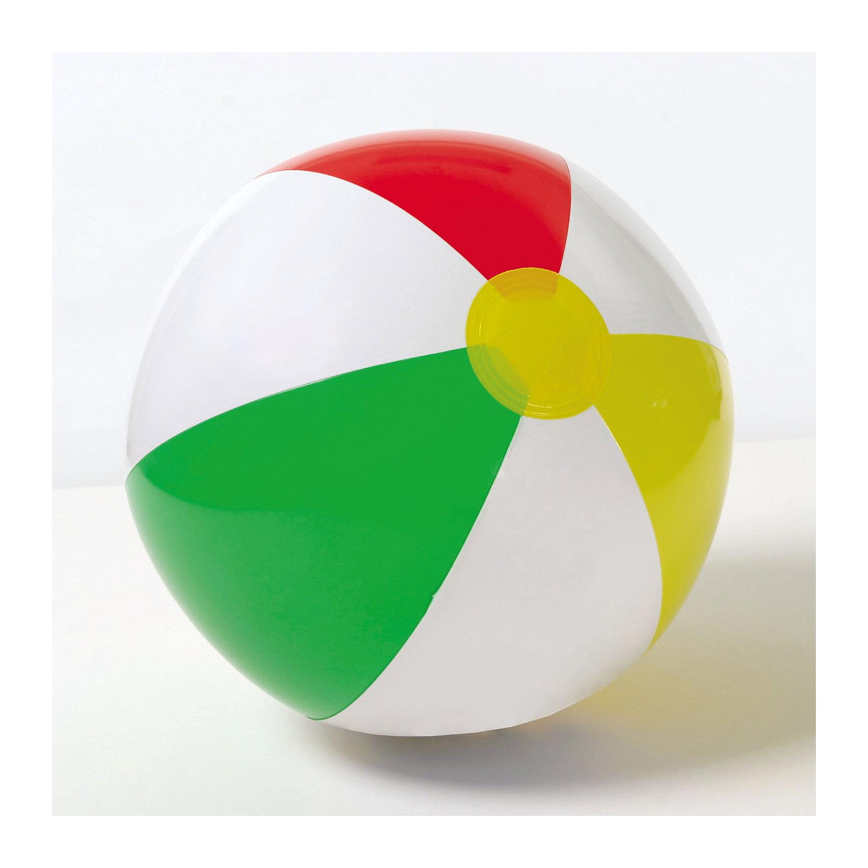 Надувной мяч Цветной, 41см, Intex<br><br>Ширина мм: 298<br>Глубина мм: 165<br>Высота мм: 15<br>Вес г: 79<br>Возраст от месяцев: 36<br>Возраст до месяцев: 192<br>Пол: Унисекс<br>Возраст: Детский<br>SKU: 5501942