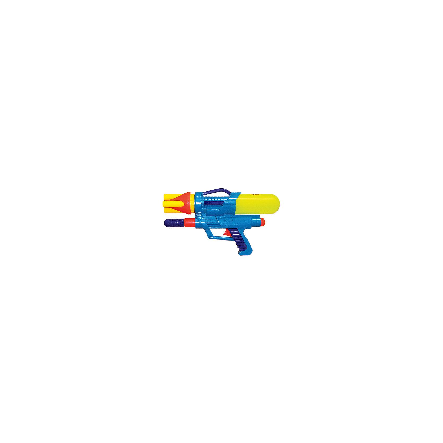Водный пистолет с помпой, 35,5х20х7,5см, Тилибом