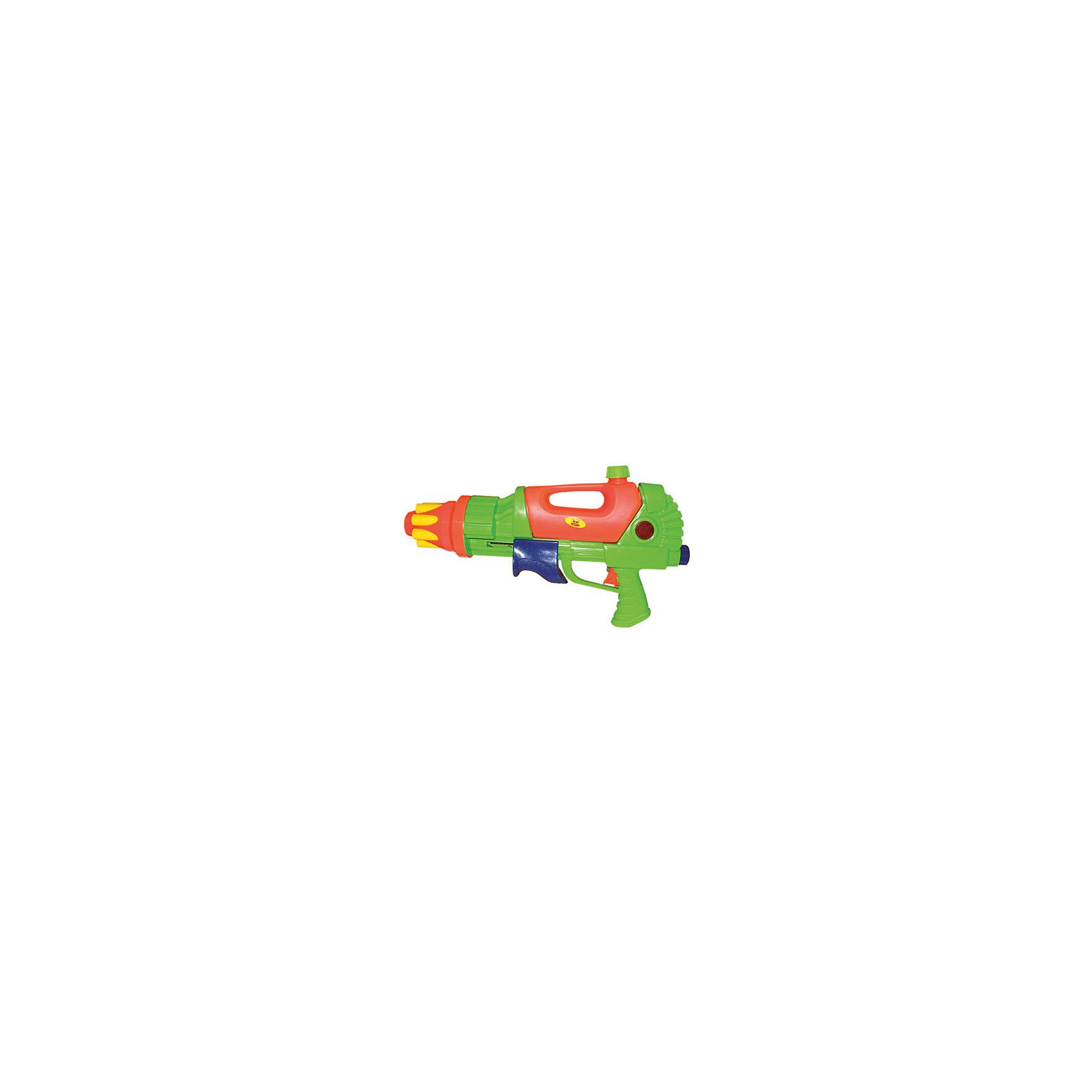 Водный пистолет с помпой и трещеткой спереди, 40,5х24см, ТилибомБластеры, пистолеты и прочее<br>Водный пистолет с помпой и трещоткой спереди, 40,5х24 см, Тилибом.<br><br>Характеристика:<br><br>• Материал: пластик. <br>• Размер: 40,5х24 см.<br>• Помповый механизм, трещотка.<br>• Яркий привлекательный дизайн. <br>• Отличная детализация. <br><br>Водный пистолет - незаменимая игрушка во время активного отдыха летом! Помповый пистолет бьет очень прицельно и точно, не причиняя никакого вреда. Игрушка выполнена из высококачественных нетоксичных материалов безопасных для детей, имеет простой механизм, с которым легко разберется любой ребенок. <br><br>Водный пистолет с помпой и трещоткой спереди, 40,5х24 см, Тилибом, можно купить в нашем интернет-магазине.<br><br>Ширина мм: 400<br>Глубина мм: 240<br>Высота мм: 100<br>Вес г: 479<br>Возраст от месяцев: 36<br>Возраст до месяцев: 144<br>Пол: Унисекс<br>Возраст: Детский<br>SKU: 5501946