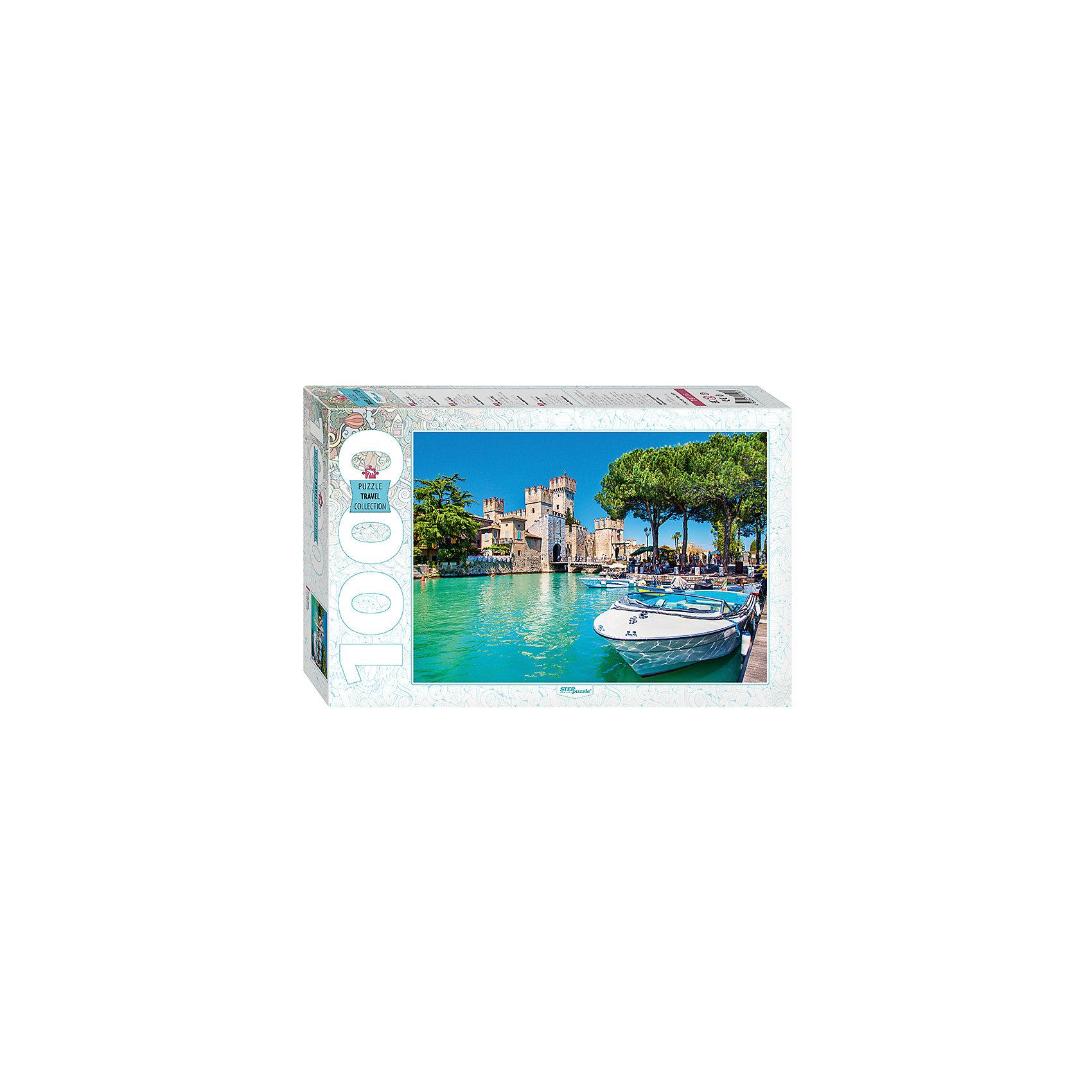Пазл Озеро Гарда, 1000 деталей, Степ ПазлКлассические пазлы<br>Пазл Озеро Гарда, 1000 деталей, Степ Пазл<br><br>Характеристики:<br><br>• красивый пейзаж на готовой картинке<br>• размер собранного изображения: 68х48 см<br>• количество деталей: 1000<br>• размер детали: 2х1,7 см<br>• материал: картон<br>• размер упаковки: 6х33х21,5 см<br>• вес: 620 грамм<br><br>Пазл Озеро Гарда порадует вас чарующей красотой итальянского пейзажа. Пазл состоит из тысячи деталей, изготовленных из плотного картона. Соберите их и наслаждайтесь картинкой с изображением озера Гарда. Кроме того, собирание пазлов хорошо влияет на развитие моторики рук, логики, внимательности и усидчивости.<br><br>Пазл Озеро Гарда, 1000 деталей, Степ Пазл можно купить в нашем интернет-магазине.<br><br>Ширина мм: 215<br>Глубина мм: 330<br>Высота мм: 60<br>Вес г: 620<br>Возраст от месяцев: 48<br>Возраст до месяцев: 2147483647<br>Пол: Унисекс<br>Возраст: Детский<br>SKU: 5502545
