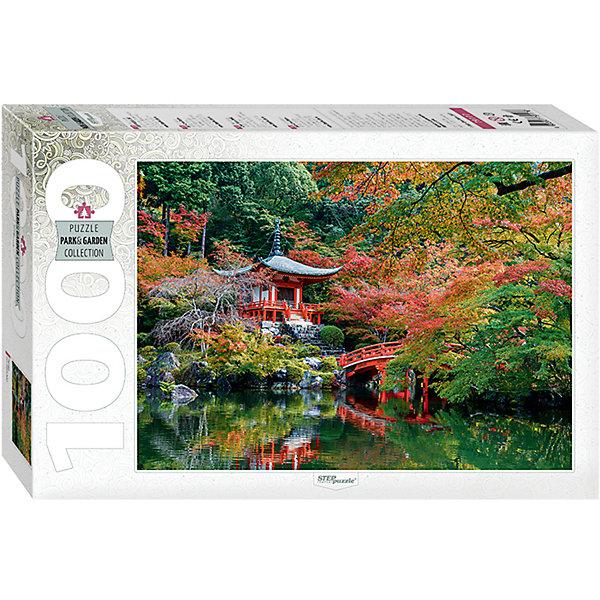 Пазл Пагода, 1000 деталей, Степ ПазлПазлы классические<br>Пазл Пагода, 1000 деталей, Степ Пазл<br><br>Характеристики:<br><br>• красивый пейзаж на готовой картинке<br>• размер собранного изображения: 68х48 см<br>• количество деталей: 1000<br>• размер детали: 2х1,7 см<br>• материал: картон<br>• размер упаковки: 6х33х21,5 см<br>• вес: 620 грамм<br><br>Пагода - многоярусная башня, декорированная карнизами и различными украшениями. Вы сможете насладиться прекрасным изображением пагоды, собрав  пазл из 1000 деталей. Все детали выполнены из плотного нетоксичного картона. Пазлы помогут развить логику, усидчивость, внимательность и мелкую моторику.<br><br>Пазл Пагода, 1000 деталей, Степ Пазлы можете купить в нашем интернет-магазине.<br>Ширина мм: 215; Глубина мм: 330; Высота мм: 60; Вес г: 620; Возраст от месяцев: 48; Возраст до месяцев: 2147483647; Пол: Унисекс; Возраст: Детский; SKU: 5502546;