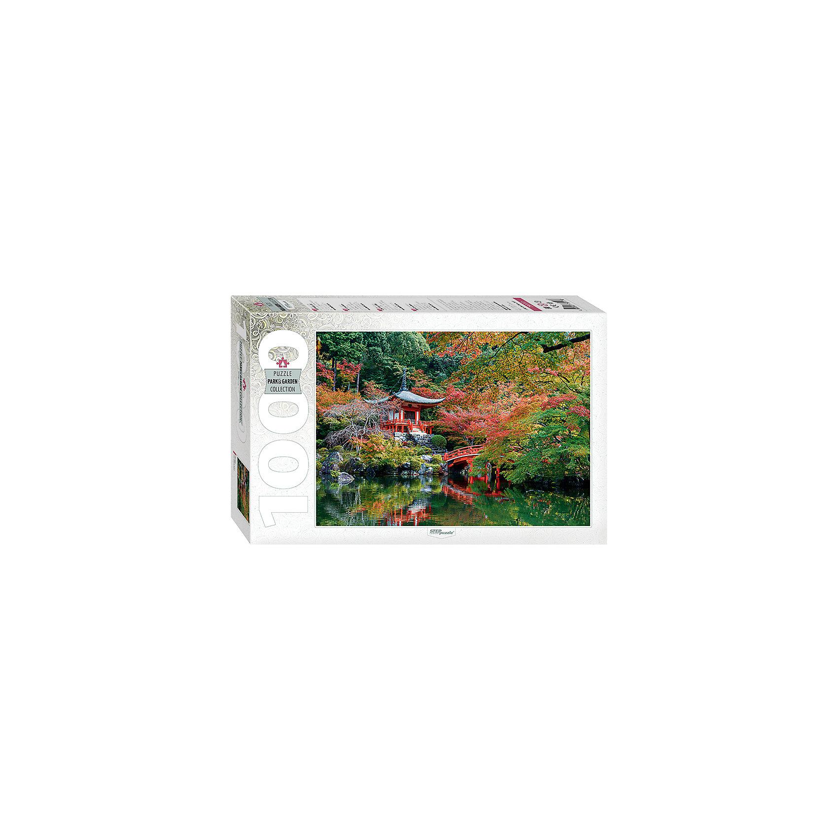 Пазл Пагода, 1000 деталей, Степ ПазлПазлы для детей постарше<br>Пазл Пагода, 1000 деталей, Степ Пазл<br><br>Характеристики:<br><br>• красивый пейзаж на готовой картинке<br>• размер собранного изображения: 68х48 см<br>• количество деталей: 1000<br>• размер детали: 2х1,7 см<br>• материал: картон<br>• размер упаковки: 6х33х21,5 см<br>• вес: 620 грамм<br><br>Пагода - многоярусная башня, декорированная карнизами и различными украшениями. Вы сможете насладиться прекрасным изображением пагоды, собрав  пазл из 1000 деталей. Все детали выполнены из плотного нетоксичного картона. Пазлы помогут развить логику, усидчивость, внимательность и мелкую моторику.<br><br>Пазл Пагода, 1000 деталей, Степ Пазлы можете купить в нашем интернет-магазине.<br><br>Ширина мм: 215<br>Глубина мм: 330<br>Высота мм: 60<br>Вес г: 620<br>Возраст от месяцев: 48<br>Возраст до месяцев: 2147483647<br>Пол: Унисекс<br>Возраст: Детский<br>SKU: 5502546