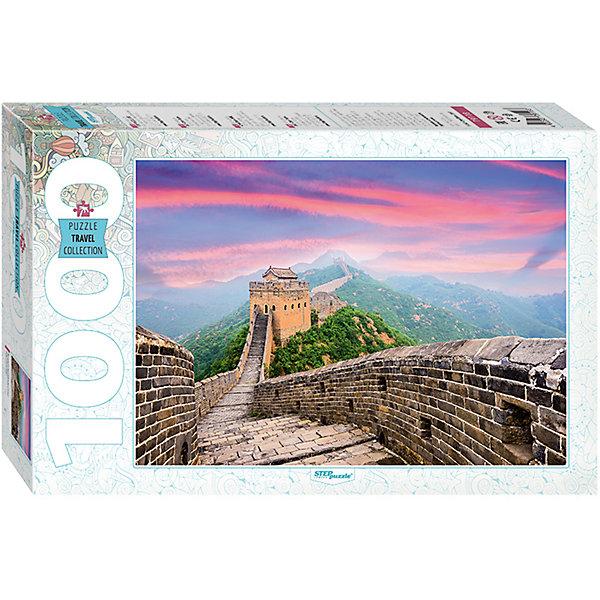 Пазл Великая Китайская стена, 1000 деталей, Степ ПазлПазлы классические<br>Пазл Великая Китайская стена, 1000 деталей, Степ Пазл<br><br>Характеристики:<br><br>• красивый пейзаж на готовой картинке<br>• размер собранного изображения: 68х48 см<br>• количество деталей: 1000<br>• размер детали: 2х1,7 см<br>• материал: картон<br>• размер упаковки: 6х33х21,5 см<br>• вес: 620 грамм<br><br>С пазлом Великая Китайская стена вы никогда не заскучаете! Пазл состоит из 1000 деталей, сделанных из плотного картона. Собрав их, вы сможете насладиться красивым пейзажем с изображением известного архитектурного памятника - Великая Китайская стена. Собирание пазлов развивает моторику рук, логику и внимательность.<br><br>Пазл Великая Китайская стена, 1000 деталей, Степ Пазл можно купить в нашем интернет-магазине.<br><br>Ширина мм: 215<br>Глубина мм: 330<br>Высота мм: 60<br>Вес г: 620<br>Возраст от месяцев: 48<br>Возраст до месяцев: 2147483647<br>Пол: Унисекс<br>Возраст: Детский<br>SKU: 5502547