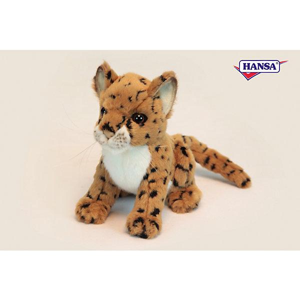 Леопард, 16 см, HansaМягкие игрушки животные<br>Леопард, 16 см, Hansa (Ханса)<br><br>Характеристики:<br><br>• реалистичная мягкая игрушка<br>• приятная на ощупь<br>• прочный каркас<br>• размер игрушки: 16 см<br>• материал: металл, плюш, наполнитель, пластик<br>• размер упаковки: 14х18 см<br>• вес: 180 грамм<br><br>Маленький леопард от Hansa - очень красивый и забавный зверек. К тому же, он очень милый и приятный на ощупь. Его каркас выполнен из прочного металла, обеспечивающего игрушке долговечность. Реалистичные детали леопарда и блестящие глазки никого не оставят равнодушным!<br><br>Леопард, 16 см, Hansa (Ханса) вы можете купить в нашем интернет-магазине.<br><br>Ширина мм: 180<br>Глубина мм: 140<br>Высота мм: 160<br>Вес г: 180<br>Возраст от месяцев: 36<br>Возраст до месяцев: 2147483647<br>Пол: Унисекс<br>Возраст: Детский<br>SKU: 5503275