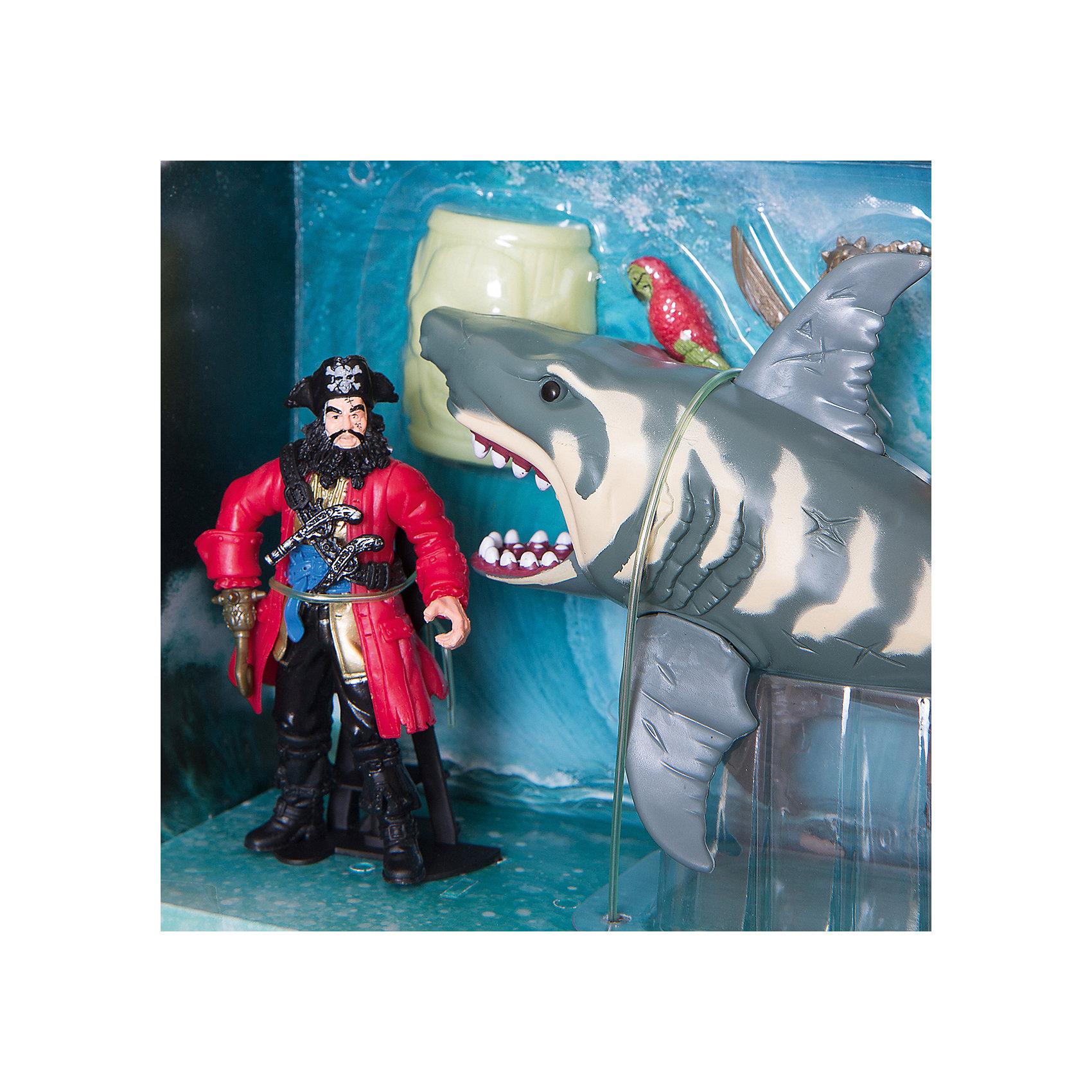 Набор: ПИРАТЫ. Нападение акулы, Chap Mei от myToys