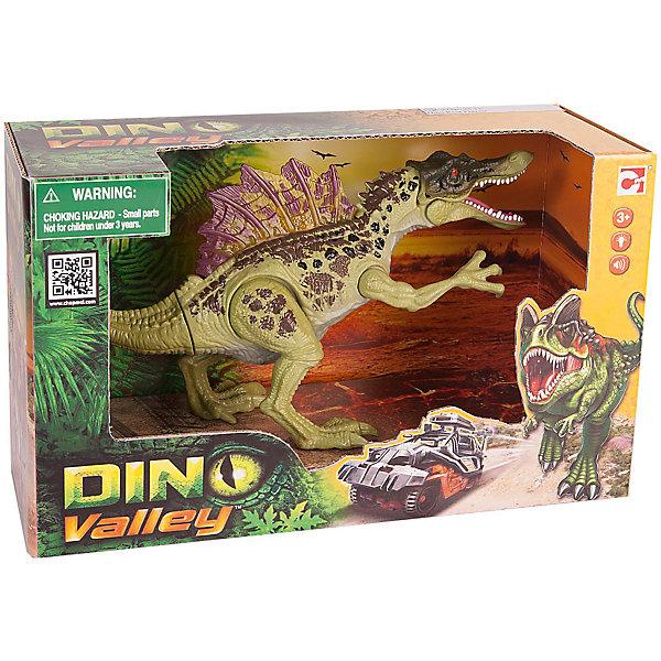 Подвижная фигура Спинозавр, Chap MeiМир животных<br>Подвижная фигура Спинозавр, Chap Mei (Чап Мей)<br><br>Характеристики:<br><br>• реалистичные детали<br>• динозавр двигается и рычит<br>• материал: пластик<br>• батарейки: AG13 - 3 шт. (входят в комплект)<br>• размер упаковки: 30х5х20 см<br>• вес: 260 грамм<br><br>Спинозавр - представитель динозавров мелового периода, обладающий огромными размерами и массой более 7 тонн. Фигурка Спинозавра от Chap Mei позволит ребенку создать самые увлекательные приключения с древним гигантом. Фигурка динозавра двигается и издает интересные звуки, напоминающие рычание.<br><br>Подвижную фигуру Спинозавра, Chap Mei (Чап Мей) вы можете купить в нашем интернет-магазине.<br>Ширина мм: 254; Глубина мм: 95; Высота мм: 159; Вес г: 606; Возраст от месяцев: 36; Возраст до месяцев: 2147483647; Пол: Унисекс; Возраст: Детский; SKU: 5503284;