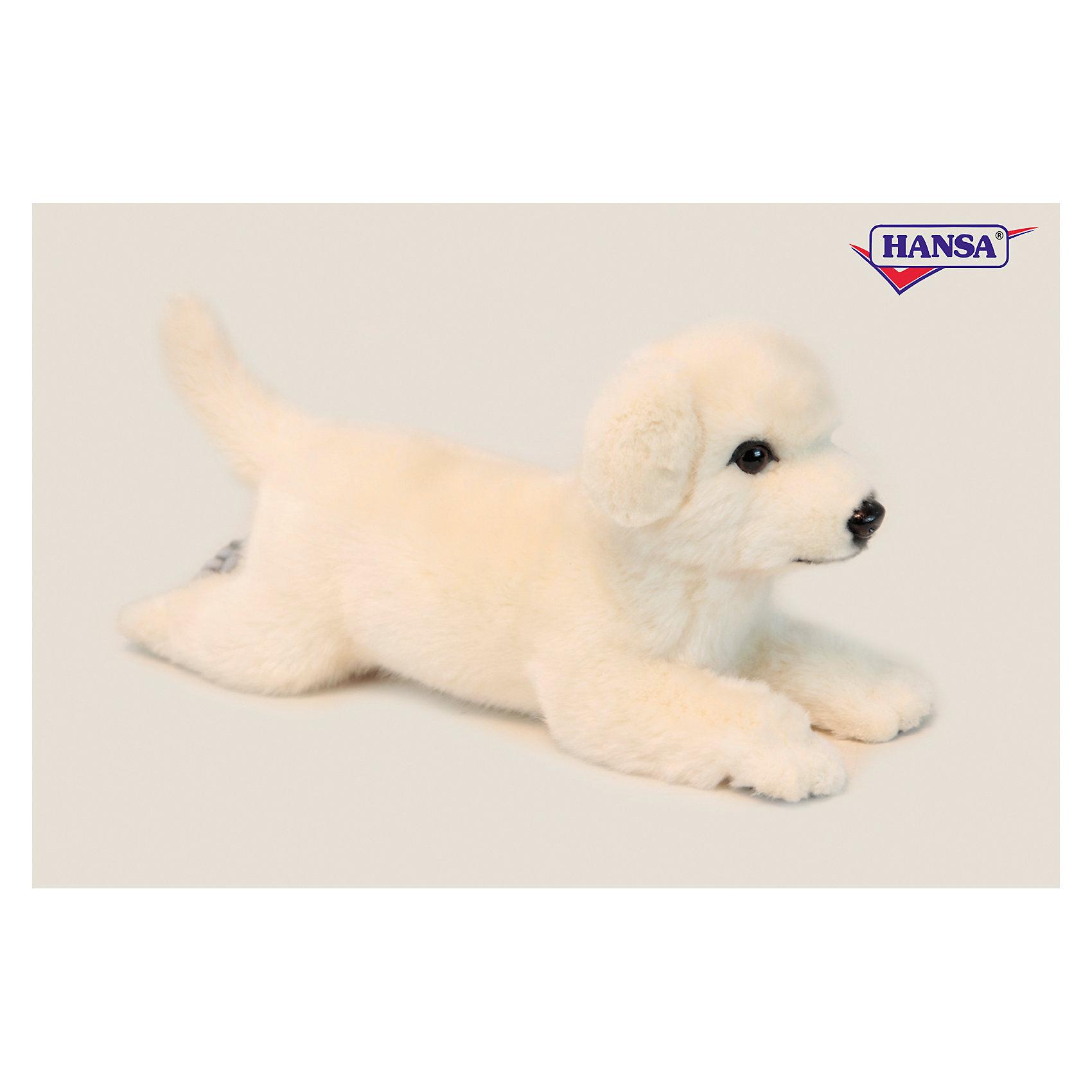 Собака Себастиан, 42 см, HansaМягкие игрушки животные<br>Собака Себастиан, 42 см, Hansa (Ханса)<br><br>Характеристики:<br><br>• реалистичные детали<br>• прочный каркас<br>• приятная на ощупь<br>• размер игрушки: 42 см<br>• материал: искусственный мех, наполнитель, текстиль, пластик<br>• вес: 210 грамм<br><br>Себастиан - очаровательная собачка от Hansa. Ее шерстка очень мягкая и приятная на ощупь, поэтому играть с ней будет очень интересно. Прочный каркас придает игрушке устойчивость и долговечность. Тщательно продуманные детали придают игре еще больше реалистичности. Блестящие глазки и милая поза Себастиана никого не оставят равнодушным! <br><br>Собаку Себастиан, 42 см, Hansa (Ханса) вы можете купить в нашем интернет-магазине.<br><br>Ширина мм: 420<br>Глубина мм: 160<br>Высота мм: 190<br>Вес г: 210<br>Возраст от месяцев: 36<br>Возраст до месяцев: 2147483647<br>Пол: Унисекс<br>Возраст: Детский<br>SKU: 5503301