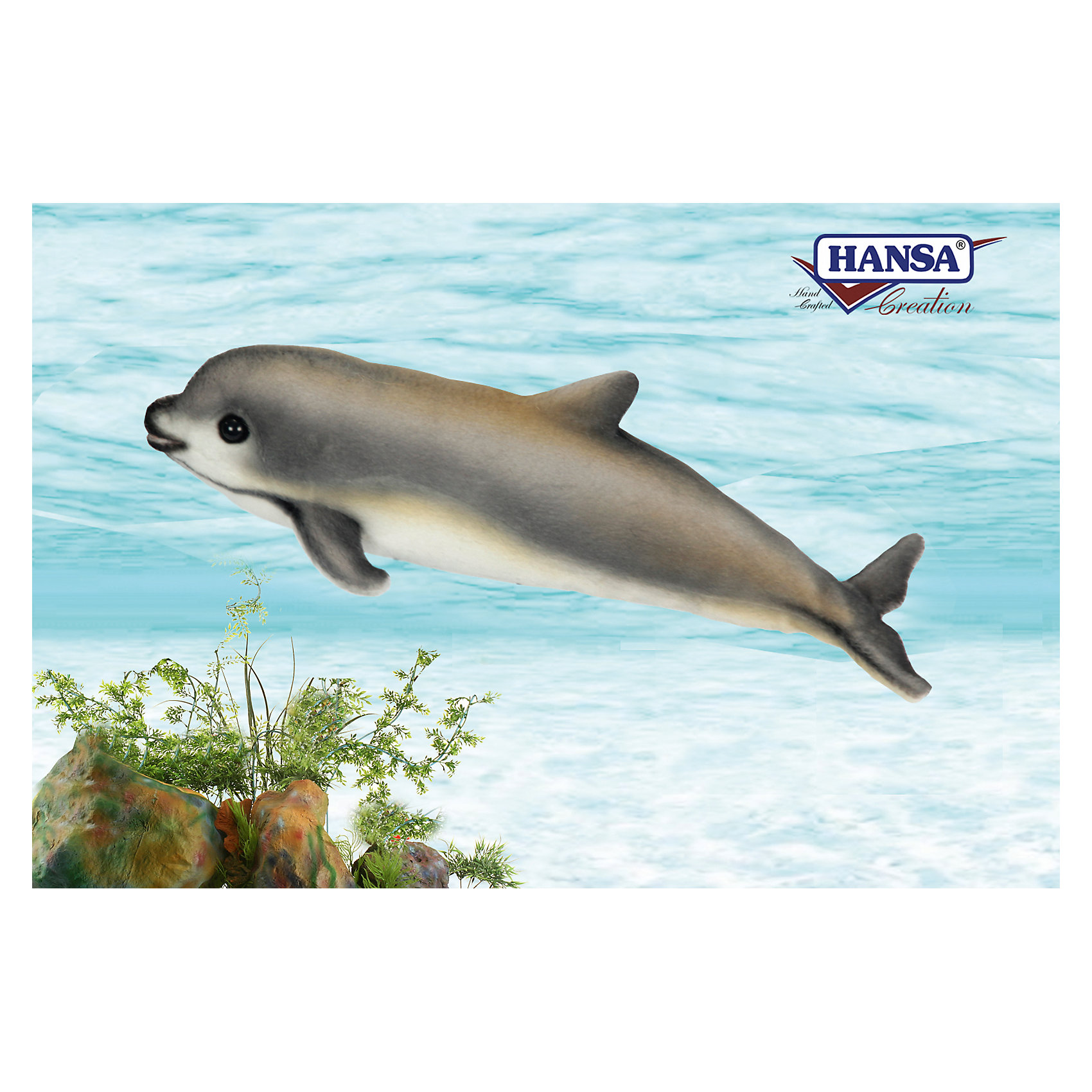 Детеныш калифорнийской морской свиньи, 31 см, HansaHansa  - мировой лидер по производству  натуралистичных, максимально похожих на настоящих животных, мягких игрушек. <br>Ханса воссоздает  экстерьер и окрас животных, фактуру шерсти, характерные позы и даже характер. <br>Благодаря своей реалистичности, игрушки HANSA позволяют любоваться дикими животными, сохраняя их жизнь.<br><br>Ширина мм: 100<br>Глубина мм: 310<br>Высота мм: 120<br>Вес г: 180<br>Возраст от месяцев: 36<br>Возраст до месяцев: 2147483647<br>Пол: Унисекс<br>Возраст: Детский<br>SKU: 5503306