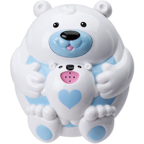Игрушка для ванны Полярный медвежонок, ALEXИгрушки для ванной<br>Игрушка для ванны Полярный медвежонок, ALEX (Алекс)<br><br>Характеристики:<br><br>• крутится, жужжит и брызгает водой<br>• материал: ПВХ, металл<br>• размер игрушки: 12 см<br>• батарейки: АА - 2 шт. (не входят в комплект)<br>• размер упаковки: 15х7х8 см<br><br>Полярный медвежонок станет лучшим другом малыша во время купания. Для этого нужно наполнить игрушку водой и нажать на носик медведицы. При нажатии на кнопку мишка начинает забавно крутиться, жужжать и брызгать водой из своего маленького фонтанчика. Такой очаровательный медвежонок принесет много радости малышу! Для работы необходимы две батарейки АА (не входят в комплект).<br><br>Игрушку для ванны Полярный медвежонок, ALEX (Алекс) можно купить в нашем интернет-магазине.<br>Ширина мм: 150; Глубина мм: 70; Высота мм: 180; Вес г: 560; Возраст от месяцев: 36; Возраст до месяцев: 2147483647; Пол: Унисекс; Возраст: Детский; SKU: 5503309;