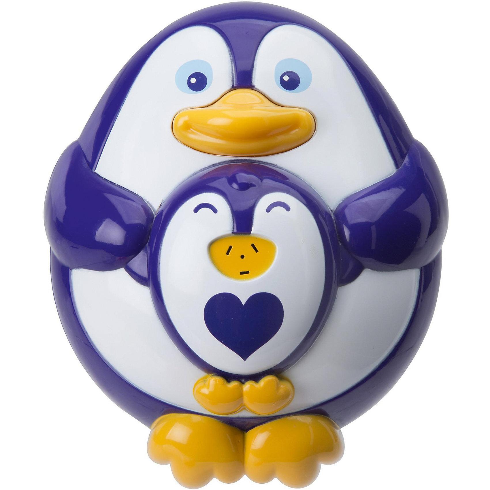 Игрушка для ванны Пингвиненок, ALEXИгрушки для ванной<br>Игрушка для ванны Пингвиненок, ALEX (Алекс)<br><br>Характеристики:<br><br>• крутится, жужжит и брызгает водой<br>• материал: ПВХ, металл<br>• размер игрушки: 12 см<br>• батарейки: АА - 2 шт. (не входят в комплект)<br>• размер упаковки: 15х7х8 см<br><br>Пингвиненок станет лучшим другом малыша во время купания. Для этого нужно наполнить игрушку водой и нажать на носик мамы. При нажатии на кнопку пингвин начинает забавно крутиться, жужжать и брызгать водой из своего маленького фонтанчика. Такой очаровательный пингвиненок принесет много радости малышу! Для работы необходимы две батарейки АА (не входят в комплект).<br><br>Игрушку для ванны Пингвиненок, ALEX (Алекс) можно купить в нашем интернет-магазине.<br><br>Ширина мм: 150<br>Глубина мм: 70<br>Высота мм: 180<br>Вес г: 560<br>Возраст от месяцев: 36<br>Возраст до месяцев: 2147483647<br>Пол: Унисекс<br>Возраст: Детский<br>SKU: 5503310