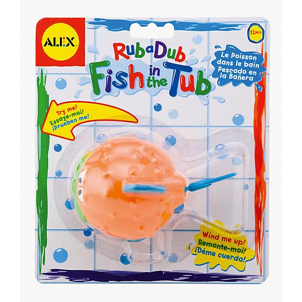 Игрушка для ванны Рыба-ёж, ALEXИгрушки для ванной<br>Игрушка для ванны Рыба-ёж, ALEX (Алекс)<br><br>Характеристики:<br><br>• двигается в воде<br>• заводной механизм<br>• материал: пластик<br>• длина игрушки - 12,5 см<br>• размер упаковки: 20х17,5х5 см<br>• вес: 105 грамм<br><br>Маленькая рыба-ёж ALEX подарит ребенку незабываемые впечатления во время купания! При повороте рычага рыбка начинает забавно двигаться и плавать. С этой игрушкой кроха полюбит купаться, ведь маленькая рыба-ёж очень веселая и интересная!<br><br>Игрушку для ванны Рыба-ёж, ALEX (Алекс) можно купить в нашем интернет-магазине.<br>Ширина мм: 177; Глубина мм: 76; Высота мм: 203; Вес г: 270; Возраст от месяцев: 12; Возраст до месяцев: 2147483647; Пол: Унисекс; Возраст: Детский; SKU: 5503312;