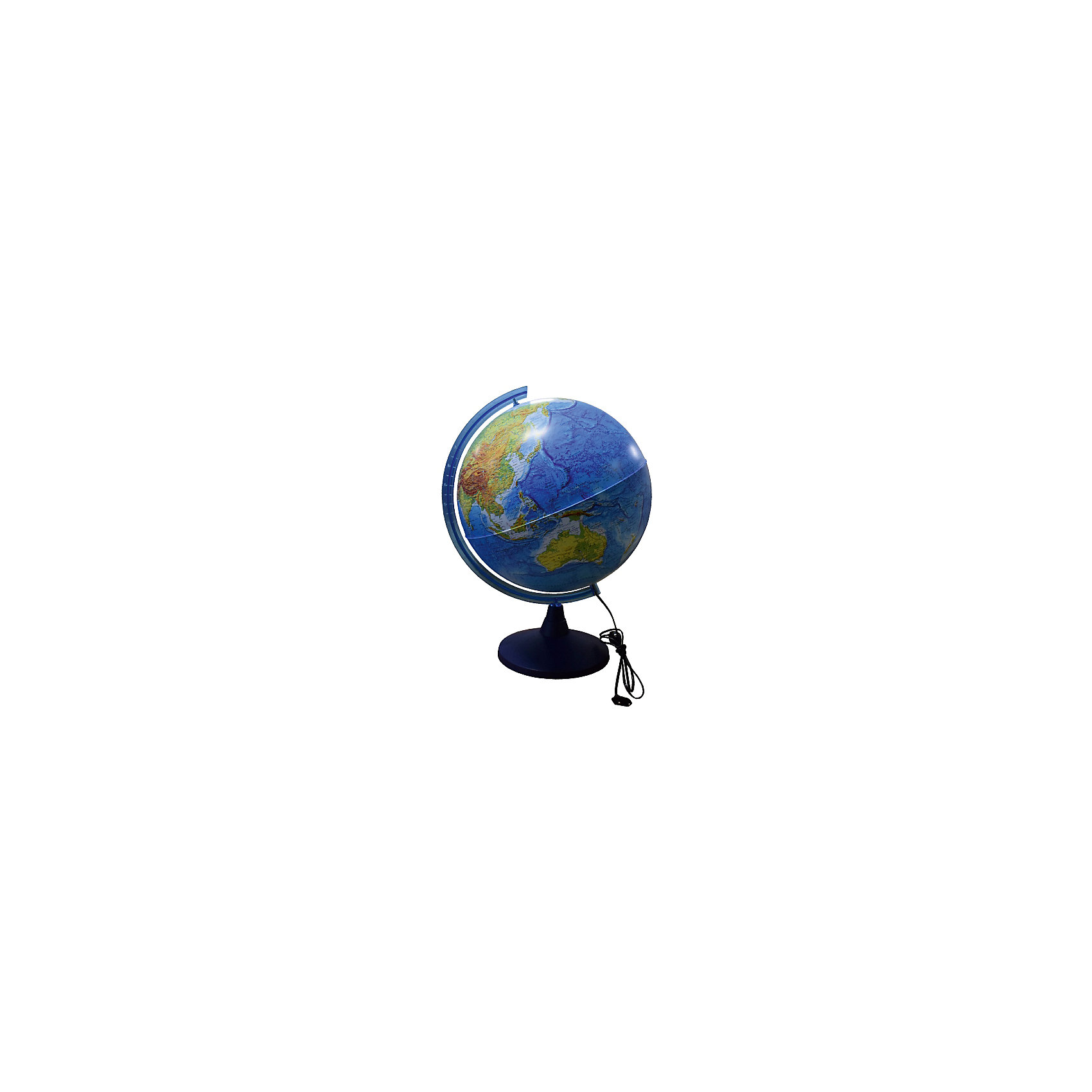 Глобус Земли физический с подсветкой, диаметр 400 ммГлобус Земли д-р 400 физический с подсветкой<br><br>Ширина мм: 420<br>Глубина мм: 400<br>Высота мм: 400<br>Вес г: 500<br>Возраст от месяцев: 72<br>Возраст до месяцев: 2147483647<br>Пол: Унисекс<br>Возраст: Детский<br>SKU: 5504479