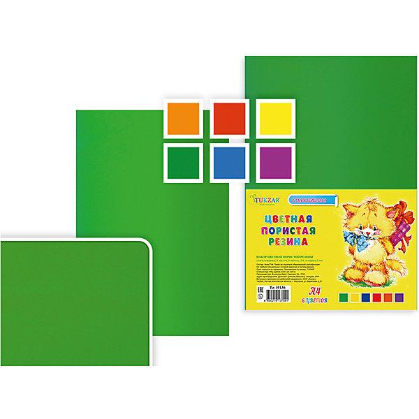 Набор цветной самоклеящейся пористой резины, 6 листов, 6 цветов, А4Последняя цена<br>Набор цветной самоклеящейся пористой резины, 6 листов, 6 цветов, А4.<br><br>Характеристики:<br><br>• Возраст: от 6 лет<br>• Количество: 6 разноцветных листов формата А4 с клейким слоем с одной стороны<br>• Толщина листа: 2 мм.<br>• Цвета: оранжевый, красный, желтый, зеленый, голубой, сиреневый<br><br>Цветная пористая резина (пена EVA) ярких насыщенных цветов в листах формата А4 предназначена для создания творческих поделок и объемных аппликаций дома, в школе или в детском саду. Листы покрыты прочным клейким слоем с одной стороны. Пористая резина - приятная на ощупь, гибкая. Работать с ней просто и удобно, она режется ножницами, легко принимает нужную форму и приклеивается на ровную поверхность.<br><br>Набор цветной самоклеящейся пористой резины, 6 листов, 6 цветов, А4 можно купить в нашем интернет-магазине.<br><br>Ширина мм: 330<br>Глубина мм: 8<br>Высота мм: 210<br>Вес г: 120<br>Возраст от месяцев: 72<br>Возраст до месяцев: 2147483647<br>Пол: Унисекс<br>Возраст: Детский<br>SKU: 5504494
