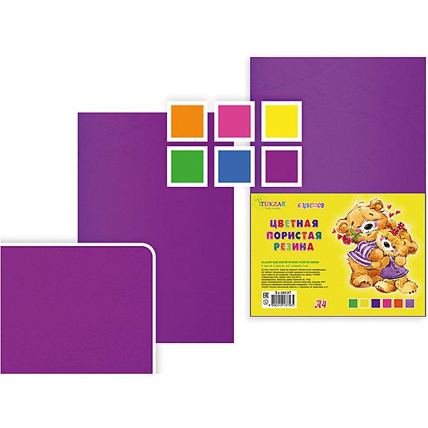 Набор цветной пористой резины, толщина - 2 мм, 6 листов, 6 цветов, А 4.Последняя цена<br>Набор цветной пористой резины, толщина - 2 мм, 6 листов, 6 цветов, А 4.<br><br>Характеристики:<br><br>• Возраст: от 6 лет<br>• Количество: 6 разноцветных листов формата А4<br>• Толщина листа: 2 мм.<br>• Цвета: оранжевый, розовый, желтый, зеленый, голубой, сиреневый<br><br>Цветная пористая резина (пена EVA) ярких насыщенных цветов в листах формата А4 предназначена для создания творческих поделок и объемных аппликаций дома, в школе или в детском саду. Пористая резина - приятная на ощупь, гибкая. Работать с ней просто и удобно, она режется ножницами, легко принимает нужную форму.<br><br>Набор цветной пористой резины, толщина - 2 мм, 6 листов, 6 цветов, А 4 можно купить в нашем интернет-магазине.<br>Ширина мм: 330; Глубина мм: 8; Высота мм: 210; Вес г: 100; Возраст от месяцев: 72; Возраст до месяцев: 2147483647; Пол: Унисекс; Возраст: Детский; SKU: 5504495;