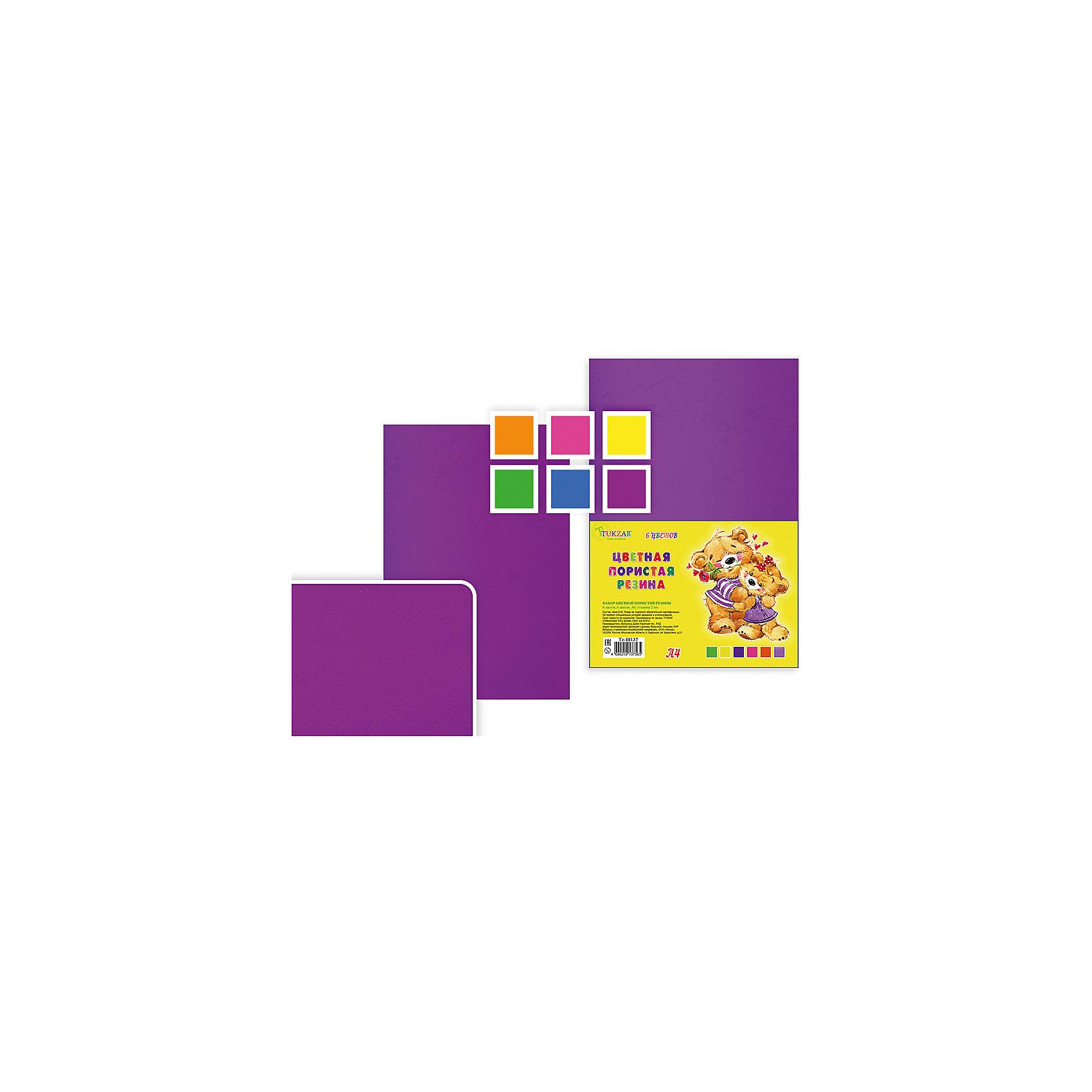 Набор цветной пористой резины, толщина - 2 мм, 6 листов, 6 цветов, А 4.Последняя цена<br>Набор цветной пористой резины, толщина - 2 мм, 6 листов, 6 цветов, А 4.<br><br>Характеристики:<br><br>• Возраст: от 6 лет<br>• Количество: 6 разноцветных листов формата А4<br>• Толщина листа: 2 мм.<br>• Цвета: оранжевый, розовый, желтый, зеленый, голубой, сиреневый<br><br>Цветная пористая резина (пена EVA) ярких насыщенных цветов в листах формата А4 предназначена для создания творческих поделок и объемных аппликаций дома, в школе или в детском саду. Пористая резина - приятная на ощупь, гибкая. Работать с ней просто и удобно, она режется ножницами, легко принимает нужную форму.<br><br>Набор цветной пористой резины, толщина - 2 мм, 6 листов, 6 цветов, А 4 можно купить в нашем интернет-магазине.<br><br>Ширина мм: 330<br>Глубина мм: 8<br>Высота мм: 210<br>Вес г: 100<br>Возраст от месяцев: 72<br>Возраст до месяцев: 2147483647<br>Пол: Унисекс<br>Возраст: Детский<br>SKU: 5504495