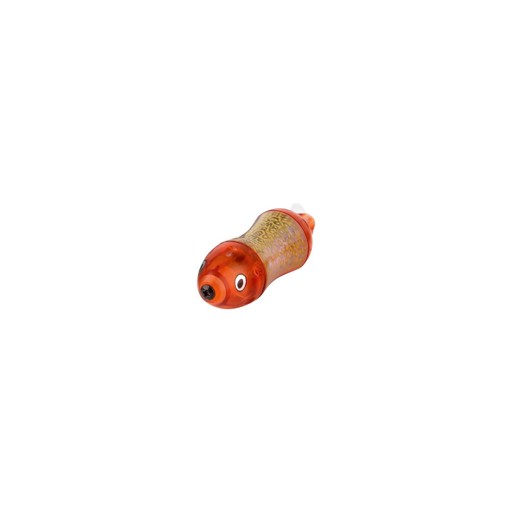 Микро-робот Aquabot Wahoo, красный, HexbugПрочие интерактивные игрушки<br>Микро-робот Aquabot Wahoo, красный, Hexbug (Хексбаг)<br><br>Характеристики:<br><br>• останавливается через 5 минут работы<br>• легко запускается<br>• быстро двигается<br>• батарейки: LR44 - 1 шт.<br>• размер упаковки: 2,5х13х4,5 см<br>• вес: 35 грамм<br>• цвет: красный<br><br>Aquabot Wahoo - маленькая рыбка-робот из линейки микророботов Aquabot. Она быстро двигается в воде, подражая своему прототипу, рыбе Ваху. Через 5 минут работы включается режим энергосбережения и рыбка останавливается. Чтобы она снова начала двигаться, достаточно постучать по стенке аквариума. Aquabot Wahoo - прекрасное развлечение для всей семьи!<br><br>Микро-робот Aquabot Waho, красный, Hexbug (Хексбаг) вы можете купить в нашем интернет-магазине.<br><br>Ширина мм: 130<br>Глубина мм: 20<br>Высота мм: 40<br>Вес г: 35<br>Возраст от месяцев: 36<br>Возраст до месяцев: 2147483647<br>Пол: Унисекс<br>Возраст: Детский<br>SKU: 5506936