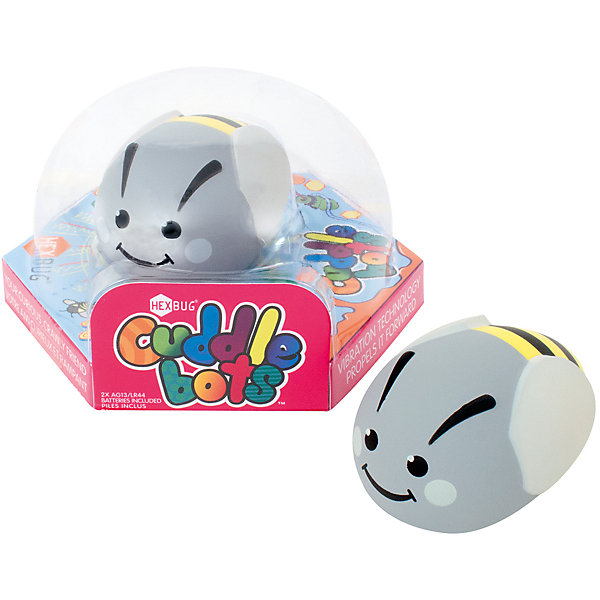 Микро-робот CuddleBot, серый, HexbugИнтерактивные игрушки для малышей<br>Микро-робот CuddleBot, серый, Hexbug (Хексбаг)<br><br>Характеристики:<br><br>• мягкий и приятный<br>• безопасен для ребенка<br>• материал: пластик<br>• размер упаковки: 14х14х7 см<br>• вес: 60 грамм<br><br>CuddleBot - забавный микроробот от Hexbug. Он очень милый, веселый и приятный на ощупь. Игрушка полностью безопасна даже для малышей, поэтому вы смело можете доверить ей развлечения ребенка. <br><br>Микро-робота CuddleBot, серый, Hexbug (Хексбаг) можно купить в нашем интернет-магазине.<br>Ширина мм: 70; Глубина мм: 120; Высота мм: 110; Вес г: 63; Возраст от месяцев: 36; Возраст до месяцев: 2147483647; Пол: Унисекс; Возраст: Детский; SKU: 5506937;