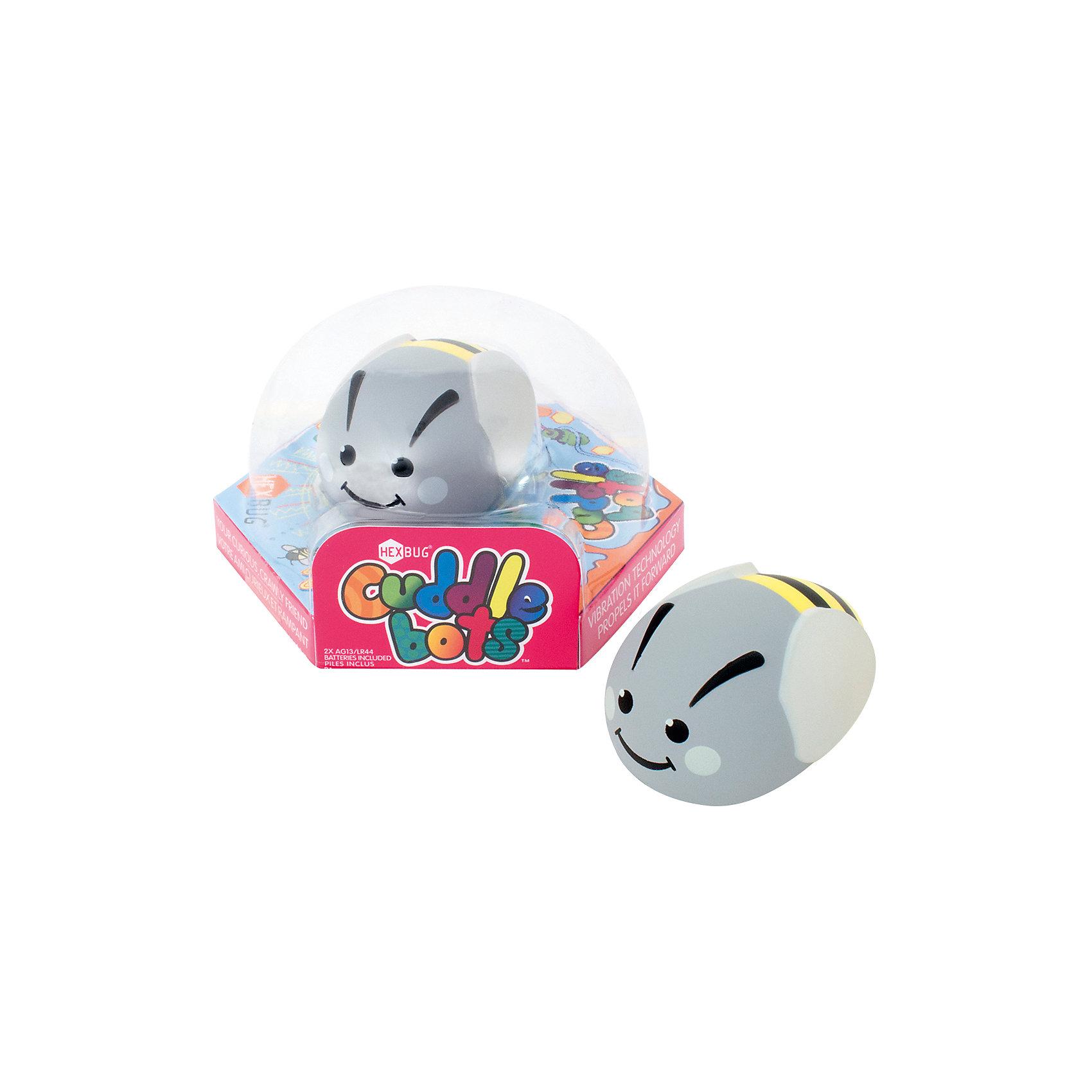 Микро-робот CuddleBot, серый, HexbugИнтерактивные игрушки для малышей<br>Микро-робот CuddleBot, серый, Hexbug (Хексбаг)<br><br>Характеристики:<br><br>• мягкий и приятный<br>• безопасен для ребенка<br>• материал: пластик<br>• размер упаковки: 14х14х7 см<br>• вес: 60 грамм<br><br>CuddleBot - забавный микроробот от Hexbug. Он очень милый, веселый и приятный на ощупь. Игрушка полностью безопасна даже для малышей, поэтому вы смело можете доверить ей развлечения ребенка. <br><br>Микро-робота CuddleBot, серый, Hexbug (Хексбаг) можно купить в нашем интернет-магазине.<br><br>Ширина мм: 70<br>Глубина мм: 120<br>Высота мм: 110<br>Вес г: 63<br>Возраст от месяцев: 36<br>Возраст до месяцев: 2147483647<br>Пол: Унисекс<br>Возраст: Детский<br>SKU: 5506937