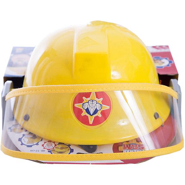 Каска Пожарный Сэм, диаметр 23 см, SimbaНаборы полицейского, пожарного<br>Каска Пожарный Сэм, диаметр 23 см, Simba (Симба)<br><br>Характеристики:<br><br>• фиксирующий ремешок<br>• защитное стекло<br>• вентиляционные отверстия<br>• диаметр каски: 23 см<br>• для окружности головы: 48-53 см<br>• материал: пластик, текстиль<br>• размер упаковки: 13х23,5х27,5 см<br><br>Каска Пожарный Сэм позволит ребенку почувствовать себя настоящим пожарником из любимого мультфильма. Каска выполнена из прочного пластика с фиксирующим ремешком из текстиля. Защитное стекло предотвратит повреждение глаз малыша. Вентиляционные отверстия в шлеме позволяют коже ребенка дышать во время игры. <br><br>Каску Пожарный Сэм, диаметр 23 см, Simba (Симба) вы можете купить в нашем интернет-магазине.<br><br>Ширина мм: 240<br>Глубина мм: 260<br>Высота мм: 200<br>Вес г: 200<br>Возраст от месяцев: 36<br>Возраст до месяцев: 84<br>Пол: Мужской<br>Возраст: Детский<br>SKU: 5506952