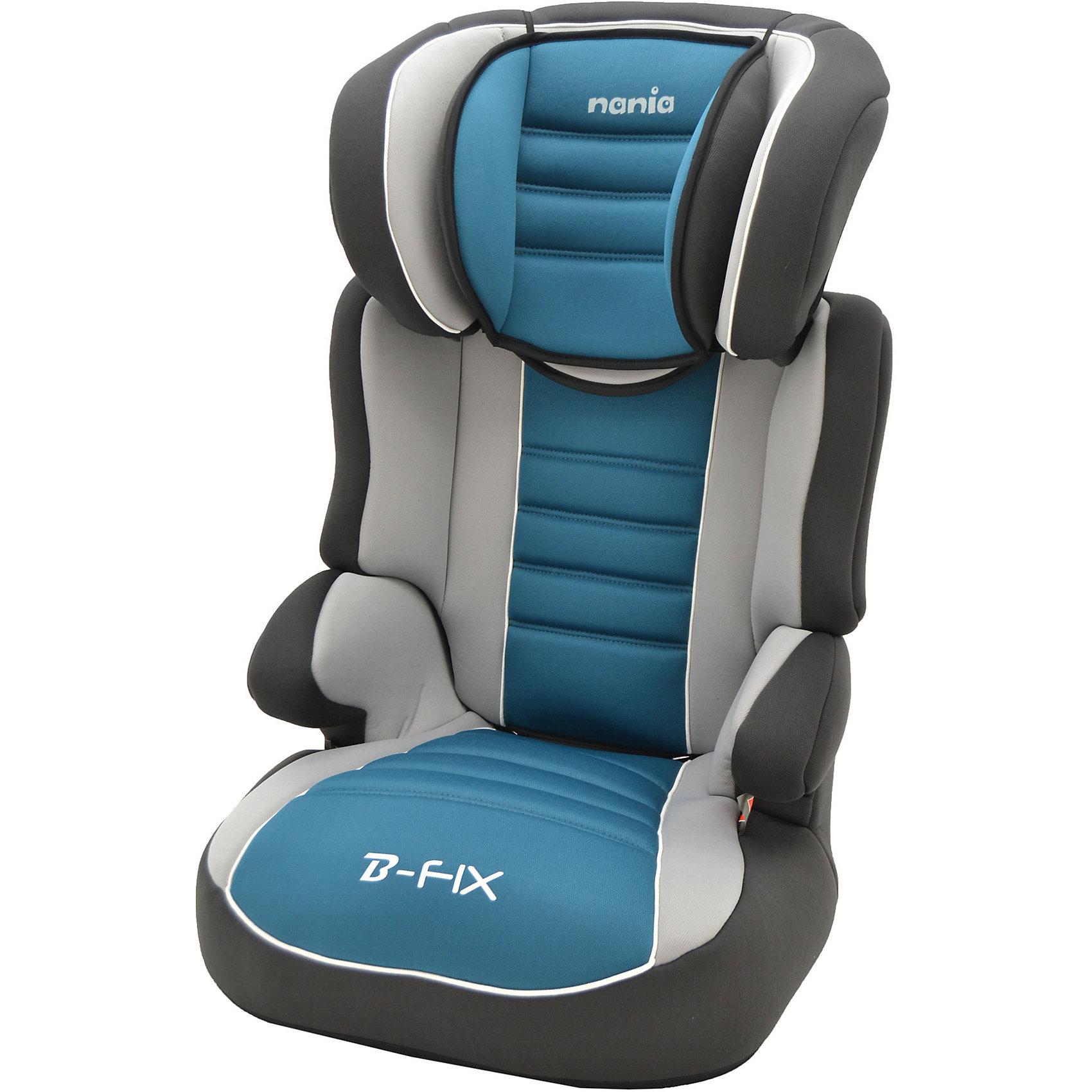 Автокресло Befix SP LX  15-36 кг., Nania, agora petroleАвтокресло nania Befix SP (наня Бефикс) относится к группе 2/3, от 3 до 12 лет  <br>Серия LUXE - для самых требовательных. Кресло nania Befix SP Luxe имеет более привлекательный дизайн, а обивка - больше поролона, что обеспечит ребенку максимальный комфорт. Пожалуй, это самое доступное и безопасное кресло в России, произведеное в Европе (Франция).<br>nania Befix SP  это два кресла в одном. Когда ребенок подрастет, спинку автокресла можно отстегнуть и использовать только бустер. <br>Автокресло nania Befix SP было разработано согласно самым жестким требованиям безопасности, а также учитывая ортопедические факторы: мягкая приятная на ощупь обивка и анатомичная форма. Ваш ребенок будет чувствовать себя комфортно даже в дальних поездках.  <br>Широкие мягкие подголовник, спинка и подлокотники обеспечат дополнительный комфорт и безопасность маленького пассажира даже в случае бокового столкновения. Высоту подголовника можно регулировать по высоте, кресло растет вместе с Вашим ребенком. <br>Все тканевые части легко снимаются и стираются.<br><br>Технические характеристики:<br>- Внешние размеры (Д х Ш х В): 45 х 45 х 72-88 см<br>- Размеры сиденья (Д х Ш): 34 х 30 см<br>- Высота спинки: 64-75 см<br>- Монтаж в автомобиле: Задний диван или сиденье пассажира<br>- Направление установка: по ходу движения<br>- Регулировка подголовника: 6 раз<br>- Вес: 4,2 кг<br>- Система крепления: 3-точечные ремни безопасности автомобиля<br><br>Ширина мм: 450<br>Глубина мм: 450<br>Высота мм: 880<br>Вес г: 4900<br>Возраст от месяцев: 36<br>Возраст до месяцев: 144<br>Пол: Унисекс<br>Возраст: Детский<br>SKU: 5507032