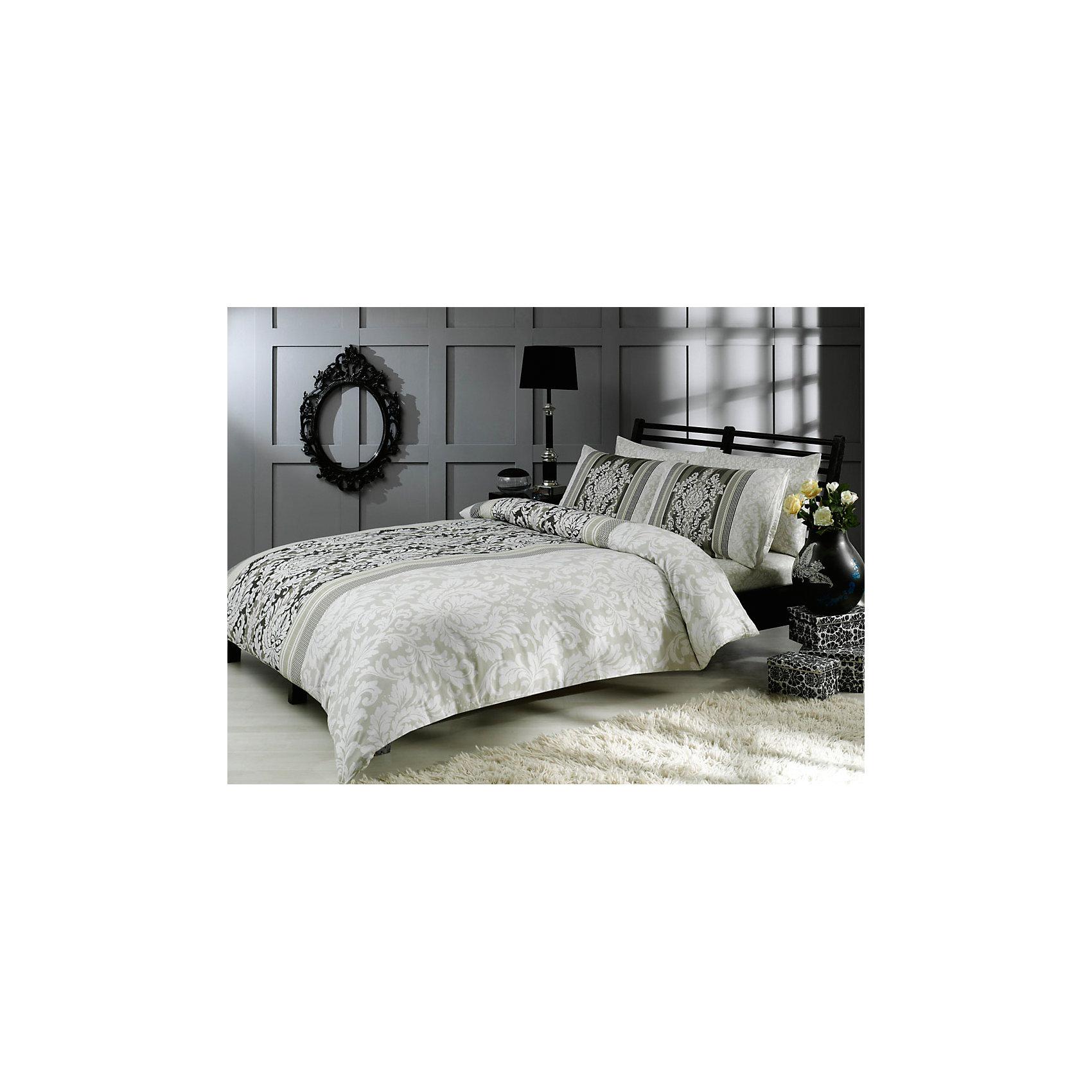 Постельное белье 1,5сп. Hazel, сатин, TAC, серыйХарактеристики:<br><br>• Вид домашнего текстиля: постельное белье<br>• Тип постельного белья по размерам: 1,5 спальное<br>• Рисунок: растительно-цветочный орнамент<br>• Сезон: круглый год<br>• Материал: сатин, 100% хлопок <br>• Цвет: оттенки серого, молочный<br>• Комплектация: <br> пододеяльник – 1 шт. 160*220 см <br> простынь – 1 шт. 180*260 см<br> наволочки – 1 шт. 50*70 см<br>• Вид застежки: пуговицы<br>• Тип упаковки: книжка картонная<br>• Вес в упаковке: 2 кг 200 г<br>• Размеры упаковки (Д*Ш*В): 27*7*37 см<br>• Особенности ухода: машинная стирка <br><br>Постельное белье 1,5сп. Hazel, сатин, TAC, серый от наиболее популярного бренда на отечественном рынке среди производителей комплектов постельного белья и текстильных принадлежностей, выпуском которого занимается производственная компания, являющаяся частью мирового холдинга Zorlu Holding Textiles Group. <br><br>Комплект состоит из 3-х предметов и включает в себя: пододеяльник, простынь и наволочку. Все изделия выполнены из хлопкового сатина, который характеризуется высокими износоустойчивыми качествами, не теряет формы и цвета при длительном использовании, после стирки изделия полностью расправляются и сохраняют ровность полотна, поэтому они не нуждаются в глажке. Специальным образом скрученная нить, из которой изготовлено сатиновое полотно, обеспечивает характерный блеск и защиту от образования катышков. <br><br>Обладает повышенными гигроскопичными качествами, благодаря чему оно комфортно для использования в любое время года. Постельное белье выполнено в стильном дизайне: крупный цветочно-растительный принт в молочно-серых оттенках придает комплекту особую изысканность. <br>Постельное белье 1,5 сп. Hazel, сатин, TAC, серый станет прекрасным решением для тех, кто ценит качество, стиль и долговечность!<br><br>Постельное белье 1,5 сп. Hazel, сатин, TAC, серый можно купить в нашем интернет-магазине.<br><br>Ширина мм: 270<br>Глубина мм: 70<br>Высота мм: 370<br>Вес г: 