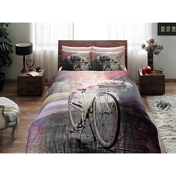 Постельное белье семейный TAC, Sunshine, розовыйВзрослое постельное бельё<br>Характеристики:<br><br>• Вид домашнего текстиля: постельное белье<br>• Тип постельного белья по размерам: семейное<br>• Рисунок: велосипедная прогулка<br>• Сезон: круглый год<br>• Материал: сатин, 100% хлопок <br>• Цвет: оттенки розового, серый, зеленый<br>• Комплектация: <br> пододеяльник – 2 шт. 160*220 см <br> простынь – 1 шт. 240*260 см<br> наволочки – 2 шт. 50*70 см<br>• Вид застежки: пуговицы<br>• Тип упаковки: книжка картонная<br>• Вес в упаковке: 3 кг 500 г<br>• Размеры упаковки (Д*Ш*В): 27*8*37 см<br>• Особенности ухода: машинная стирка <br><br>Постельное белье семейный Sunshine, сатин, TAC, розовый от наиболее популярного бренда на отечественном рынке среди производителей комплектов постельного белья и текстильных принадлежностей, выпуском которого занимается производственная компания, являющаяся частью мирового холдинга Zorlu Holding Textiles Group. <br><br>Комплект состоит из 5-ти предметов и включает в себя: пододеяльник, простынь и две наволочки. Все изделия выполнены из хлопкового сатина, который характеризуется высокими износоустойчивыми качествами, не теряет формы и цвета при длительном использовании, после стирки изделия полностью расправляются и сохраняют ровность полотна, поэтому они не нуждаются в глажке. Специальным образом скрученная нить, из которой изготовлено сатиновое полотно, обеспечивает характерный блеск и защиту от образования катышков. <br><br>Обладает повышенными гигроскопичными качествами, благодаря чему оно комфортно для использования в любое время года. Постельное белье выполнено в стильном дизайне: сюжетный принт, изображающий велосипедную прогулку придает комплекту особую оригинальность. <br><br>Постельное белье семейный Sunshine, сатин, TAC, розовый можно купить в нашем интернет-магазине.<br>Ширина мм: 270; Глубина мм: 80; Высота мм: 370; Вес г: 3500; Возраст от месяцев: 216; Возраст до месяцев: 1188; Пол: Унисекс; Возраст: Детский; SKU: 5507057;