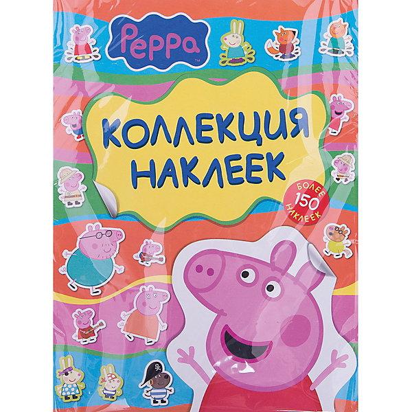 Коллекция наклеек Свинка Пеппа, желт.Книжки с наклейками<br>Коллекция наклеек Свинка Пеппа, желт.<br><br>Характеристики:<br><br>• ISBN: 4680274029608<br>• Количество наклеек: 150+<br>• Герой: Свинка Пеппа<br><br>В этом наборе содержится более 150-ти ярких наклеек из любимого многими мультика Свинка Пеппа. Ваш ребенок сможет украсить ими свои тетради, игрушки или комнату. Эти красочные наклейки станут прекрасным подарком. Работа с наклейками развивает мелкую моторику и подарит много приятных минут вашему ребенку. Наклейки сделаны из полностью безопасного материала и не вредят ребенку.<br><br>Коллекция наклеек Свинка Пеппа, желт. можно купить в нашем интернет-магазине.<br>Ширина мм: 275; Глубина мм: 210; Высота мм: 30; Вес г: 80; Возраст от месяцев: 36; Возраст до месяцев: 2147483647; Пол: Унисекс; Возраст: Детский; SKU: 5507088;