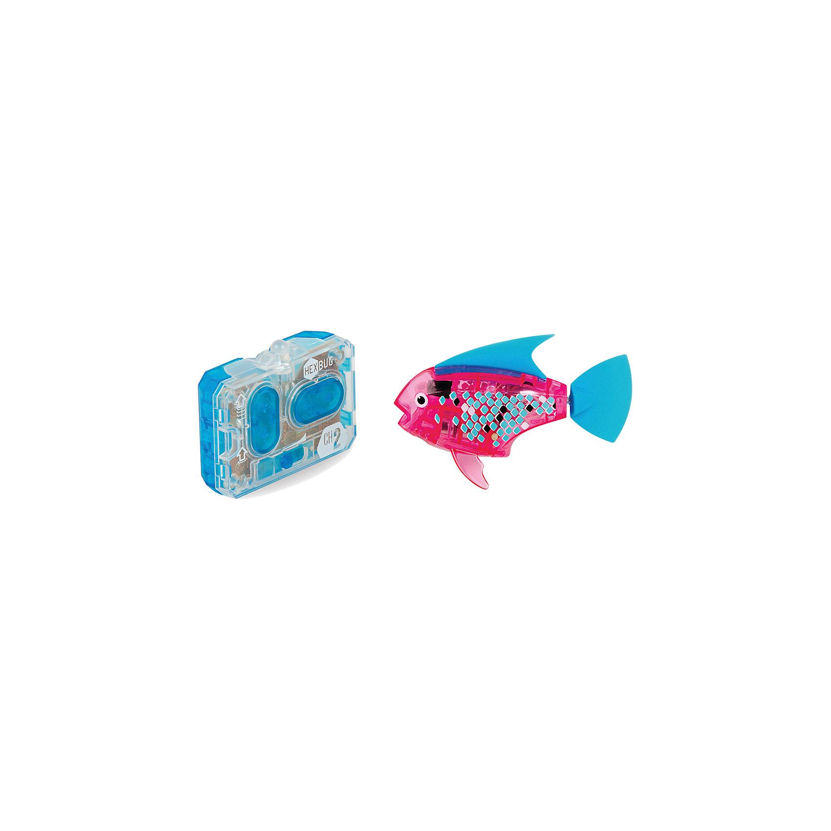 Микро-робот Aqua Bot, розовый, HexbugИнтерактивные игрушки для малышей<br>Микро-робот Aqua Bot, розовый, Hexbug (Хексбаг)<br><br>Характеристики:<br><br>• плавает в любом направлении<br>• автоматическое отключение вне воды<br>• цвет: розовый<br>• размер: 8х4х2 см<br>• батарейки: AG13 - 2 шт. (входят в комплект)<br>• материал: пластик, металл<br>• размер упаковки: 19х6х4 см<br>• вес: 31 грамм<br><br>Aqua Bot - маленькая рыбка-робот, которая поразит вас своими размерами и ловкостью. Этот малыш быстро передвигается в воде в любом направлении. Положите микроробота в воду - и он тут же отправится покорять водное пространство. Если вытащить робота из воды, он автоматически отключается для экономии энергии. Такая замечательная игрушка, несомненно, понравится всем членам семьи!<br><br>Микро-робот Aqua Bot, розовый, Hexbug (Хексбаг) можно купить в нашем интернет-магазине.<br><br>Ширина мм: 160<br>Глубина мм: 90<br>Высота мм: 120<br>Вес г: 85<br>Возраст от месяцев: 36<br>Возраст до месяцев: 2147483647<br>Пол: Унисекс<br>Возраст: Детский<br>SKU: 5507181