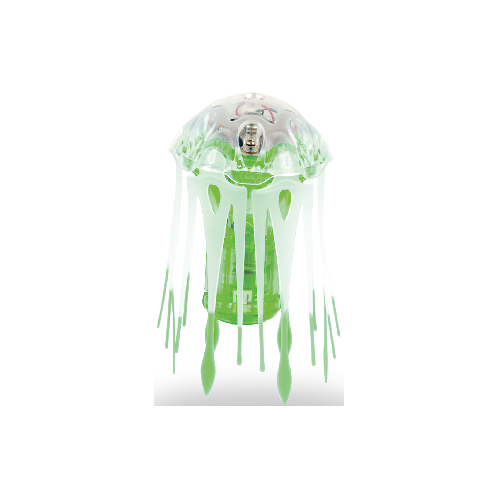 Микро-робот Aqua Bot Медуза, зеленый, HexbugИнтерактивные игрушки для малышей<br>Микро-робот Aqua Bot Медуза, зеленый, Hexbug (Хексбаг)<br><br>Характеристики:<br><br>• плавает в любом направлении<br>• автоматическое отключение вне воды<br>• световые эффекты<br>• гибкие щупальца<br>• цвет: зеленый<br>• размер: 4х4х6 см<br>• батарейки: AG13 - 3 шт. (входят в комплект)<br>• материал: пластик, металл<br>• размер упаковки: 12,5х7х17 см<br>• вес: 70 грамм<br><br>Aqua Bot Медуза - настоящая находка для любителей микророботов. При попадании в воду он начинает плавать, кружиться и двигаться, словно настоящая медуза. Щупальца микроробота гибкие. Для экономии энергии Медуза автоматически отключается вне воды или через несколько минут работы. Чтобы робот снова начал двигаться, достаточно немного всколыхнуть воду или постучать по стенке аквариума. Робот оснащен световыми эффектами, которые никого не оставят равнодушным!<br><br>Микро-робота Aqua Bot Медуза, зеленый, Hexbug (Хексбаг) вы можете купить в нашем интернет-магазине<br><br>Ширина мм: 170<br>Глубина мм: 60<br>Высота мм: 120<br>Вес г: 74<br>Возраст от месяцев: 36<br>Возраст до месяцев: 2147483647<br>Пол: Унисекс<br>Возраст: Детский<br>SKU: 5507185